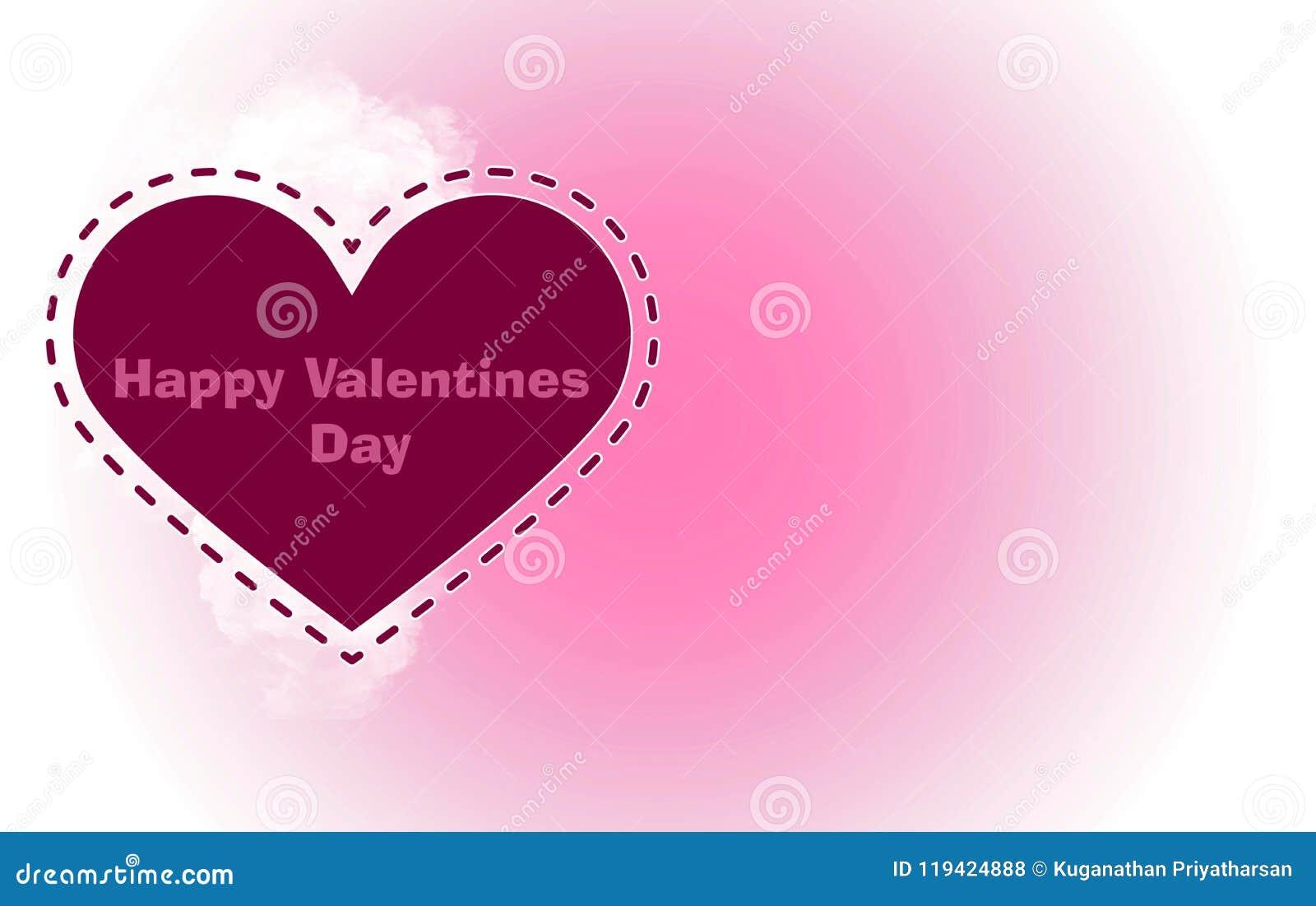 Plantilla para el día del ` s de la tarjeta del día de San Valentín