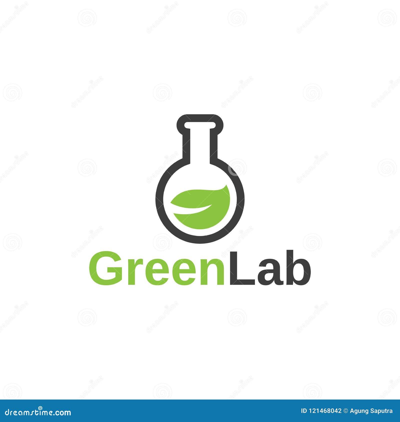 Plantilla Verde Del Diseño Del Vector De La Innovación Del Logotipo ...