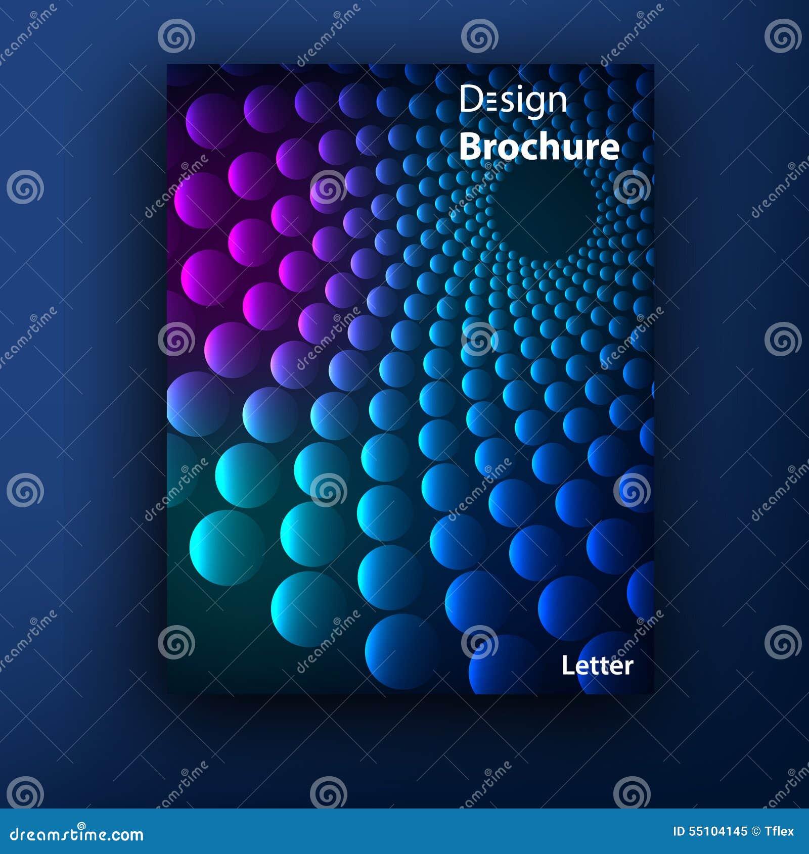 Plantillas del diseño de la cubierta del folleto del folleto del vector