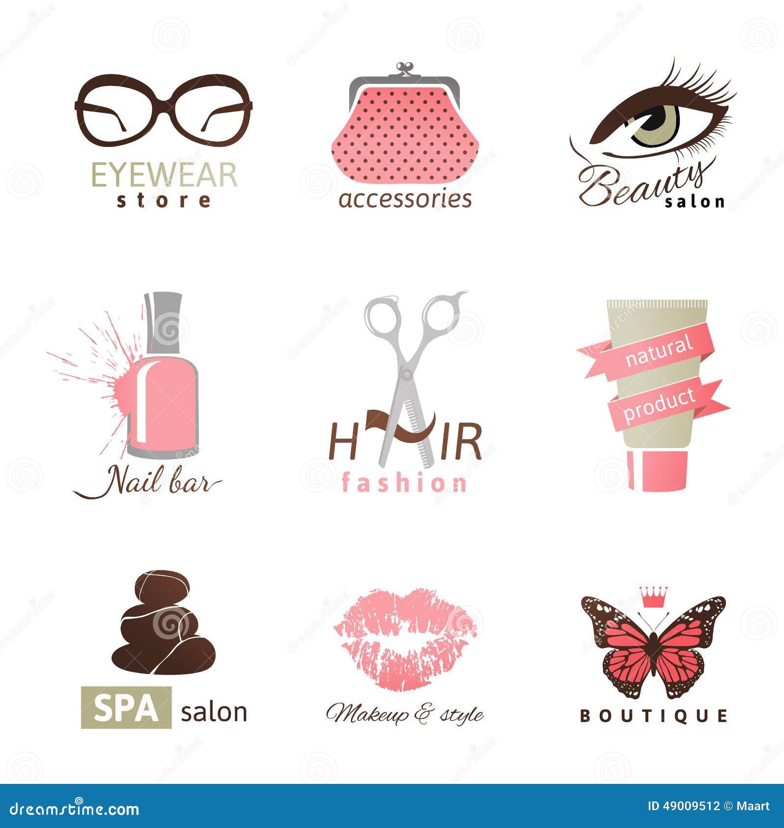 Plantillas Del Logotipo De La Belleza Y De La Moda ...