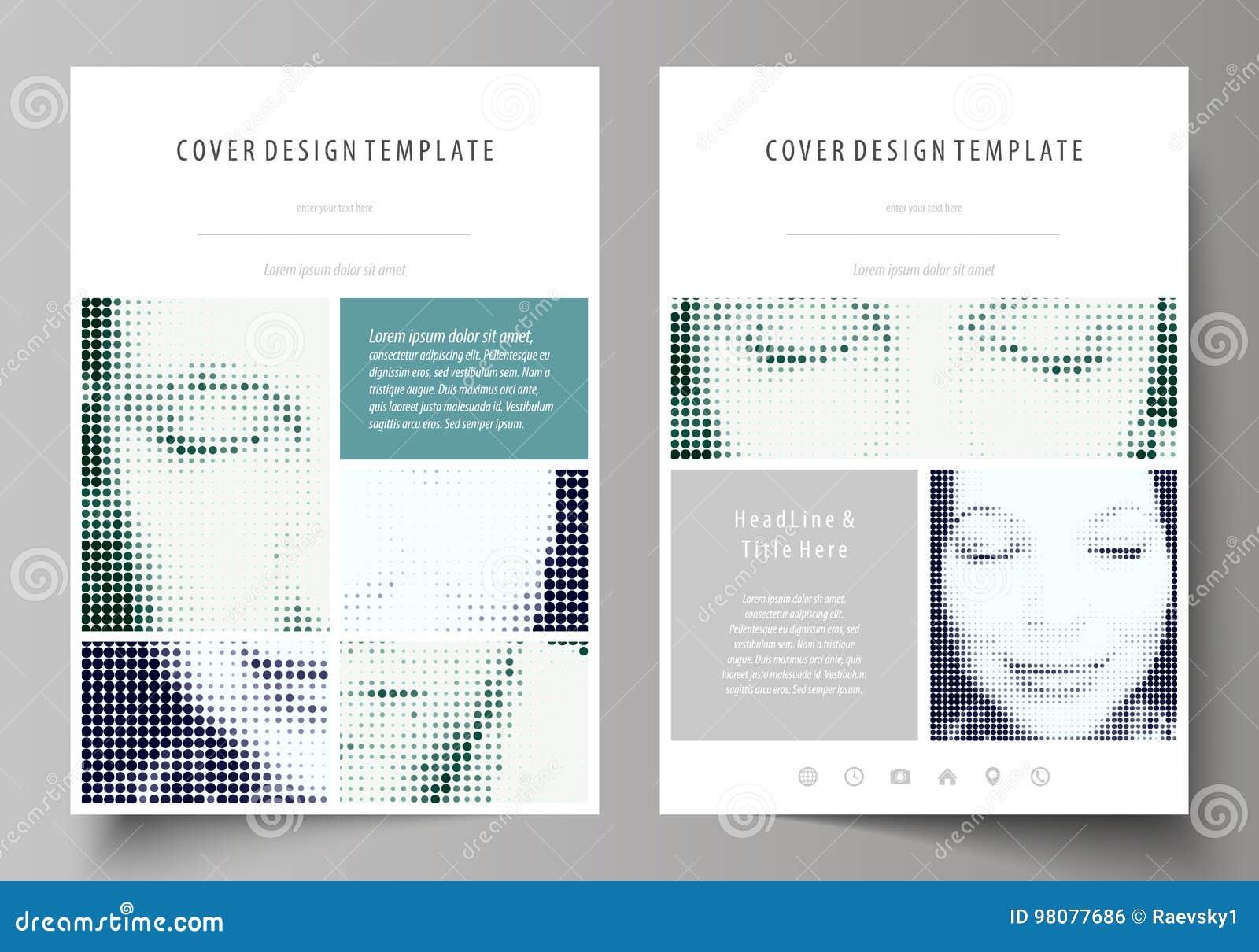 Plantillas del negocio para el folleto, revista, aviador, folleto Cubra la plantilla del diseño, disposición abstracta de tamaño