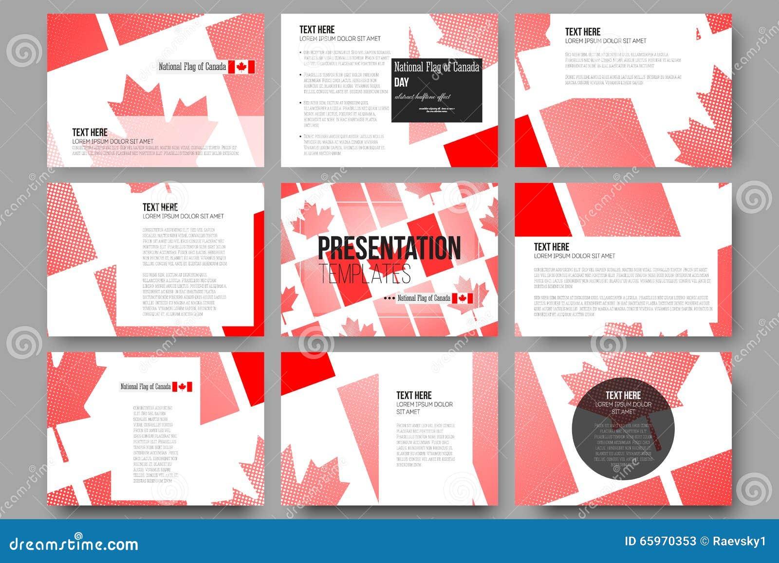 Plantillas Del Vector Para Las Diapositivas De La Presentación ...