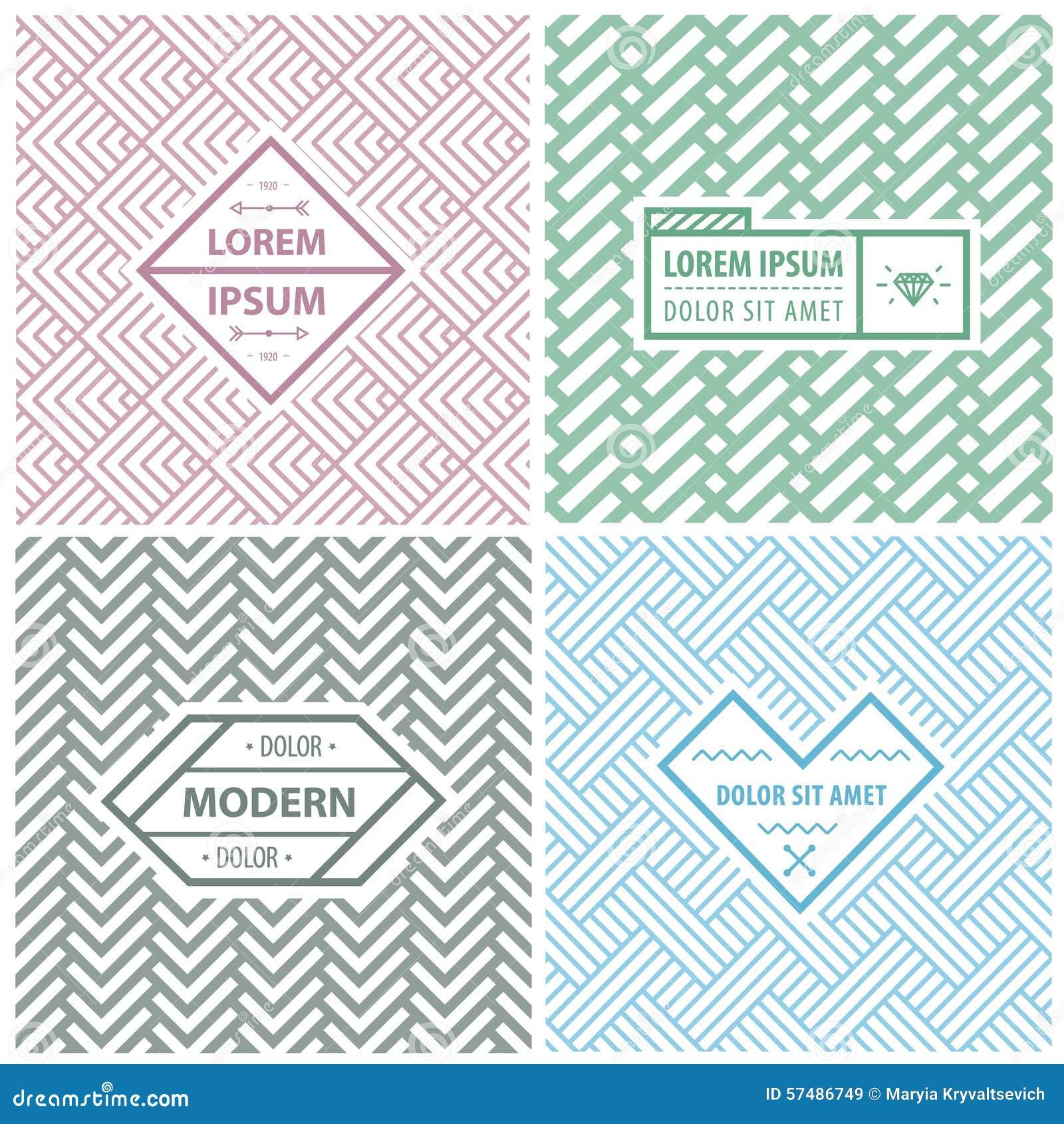 Plantillas Para El Logotipo, Etiquetas Del Diseño Gráfico Y ...