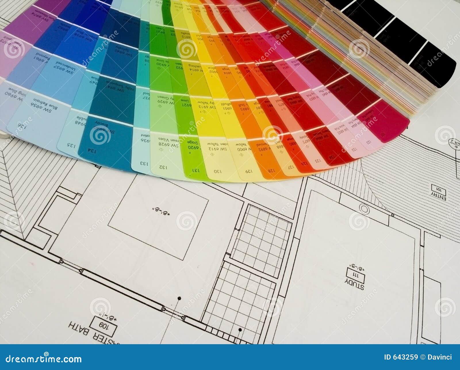 Plany kolorów,