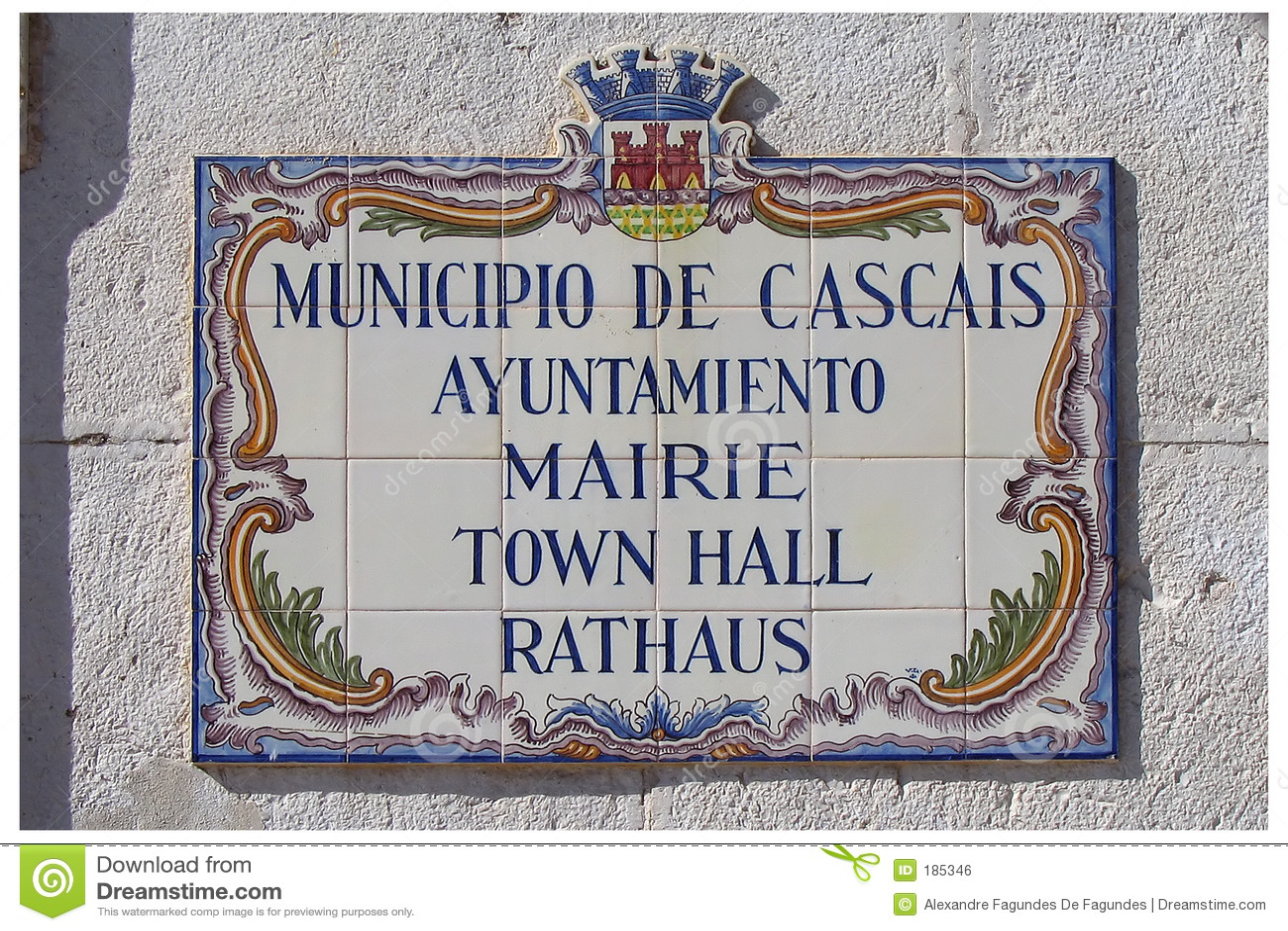 Plaque - CaisCais - Portugal