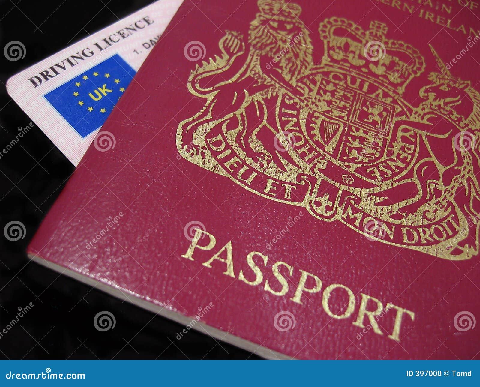 Plaque d immatriculation BRITANNIQUE de passeport et de gestionnaires