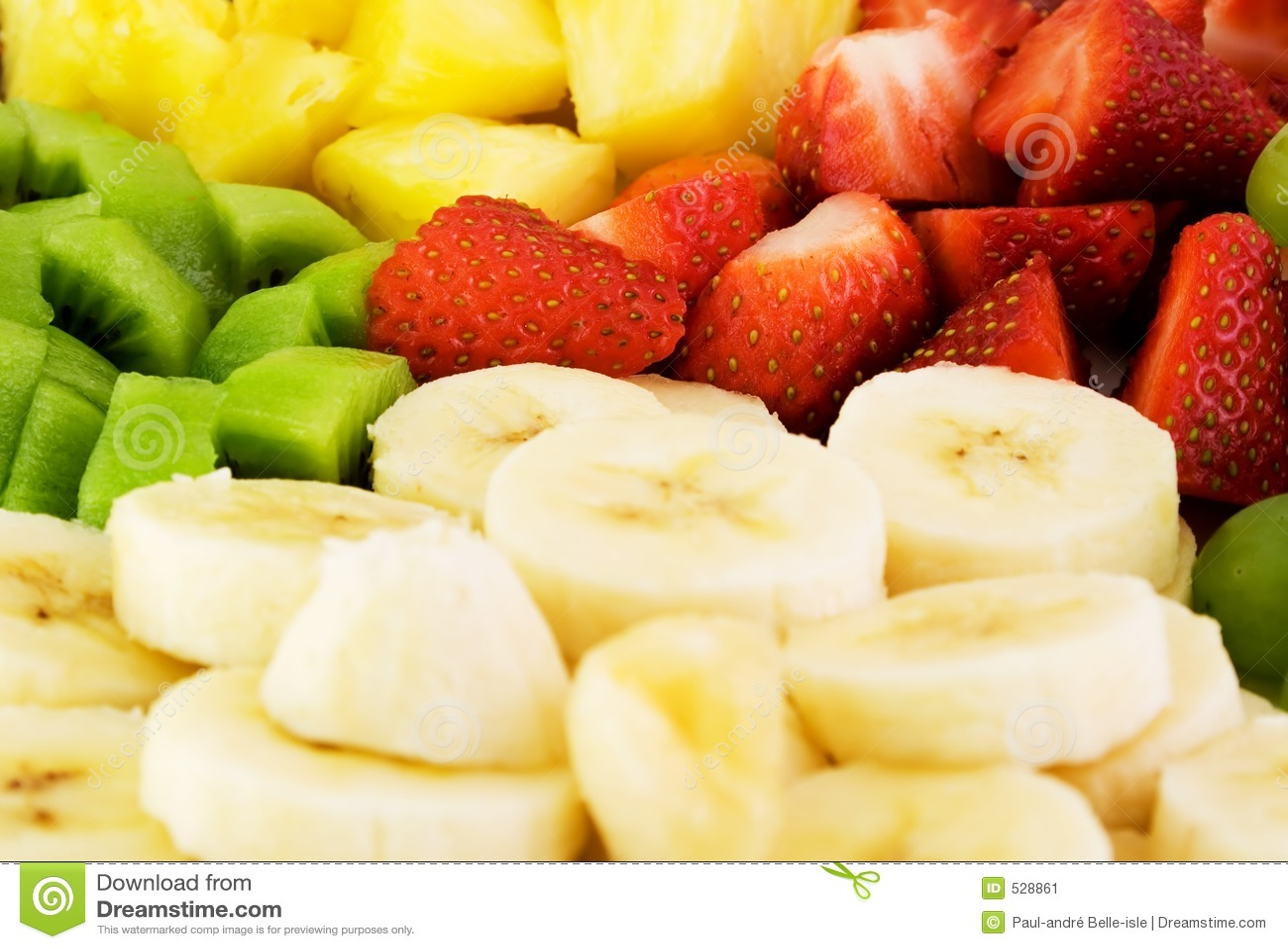 Plaque de fruit