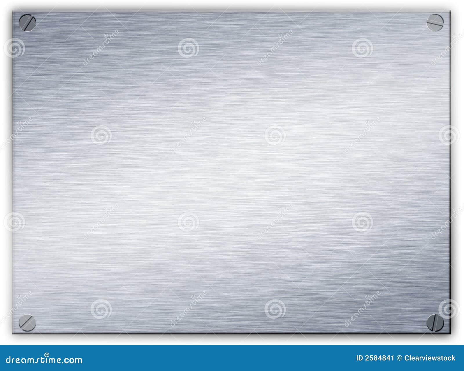plaque en acier balay e en m tal image stock image 2584841. Black Bedroom Furniture Sets. Home Design Ideas