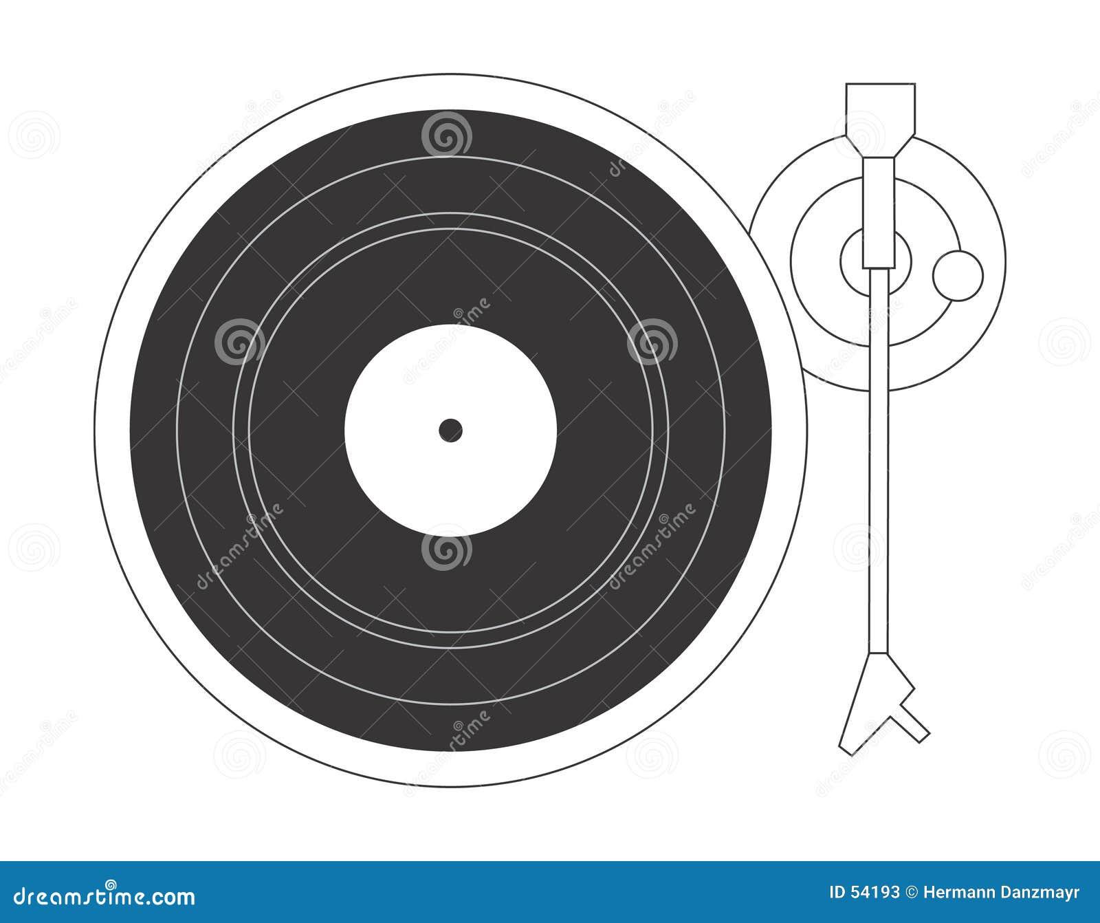 Plaque tournante du DJ