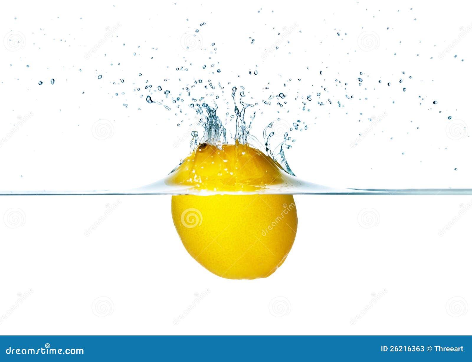 Plaska för citron