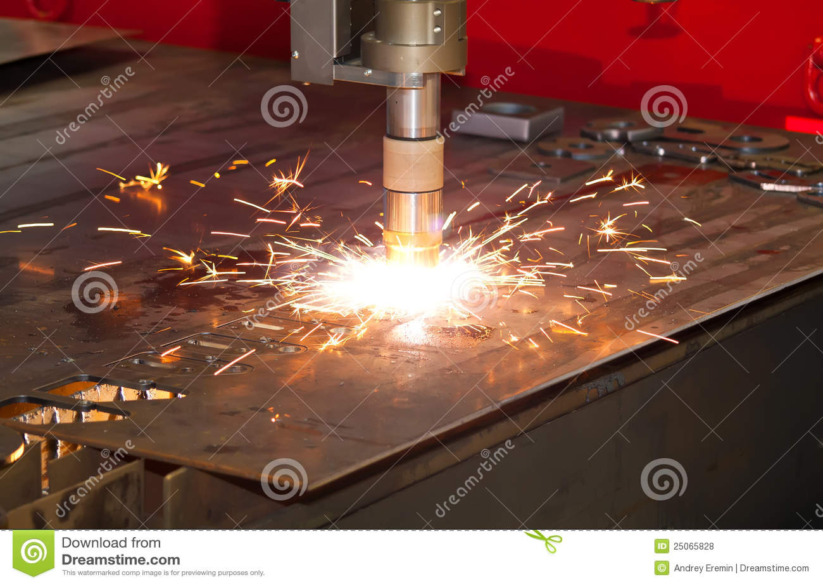Plasma Cutter Stock Photo Image Of Manufacturing