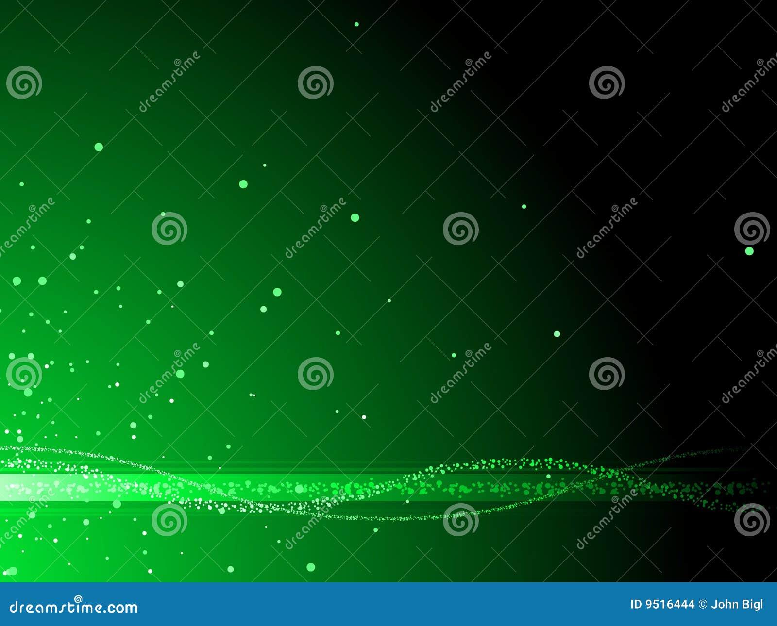 Plasma vert de fond