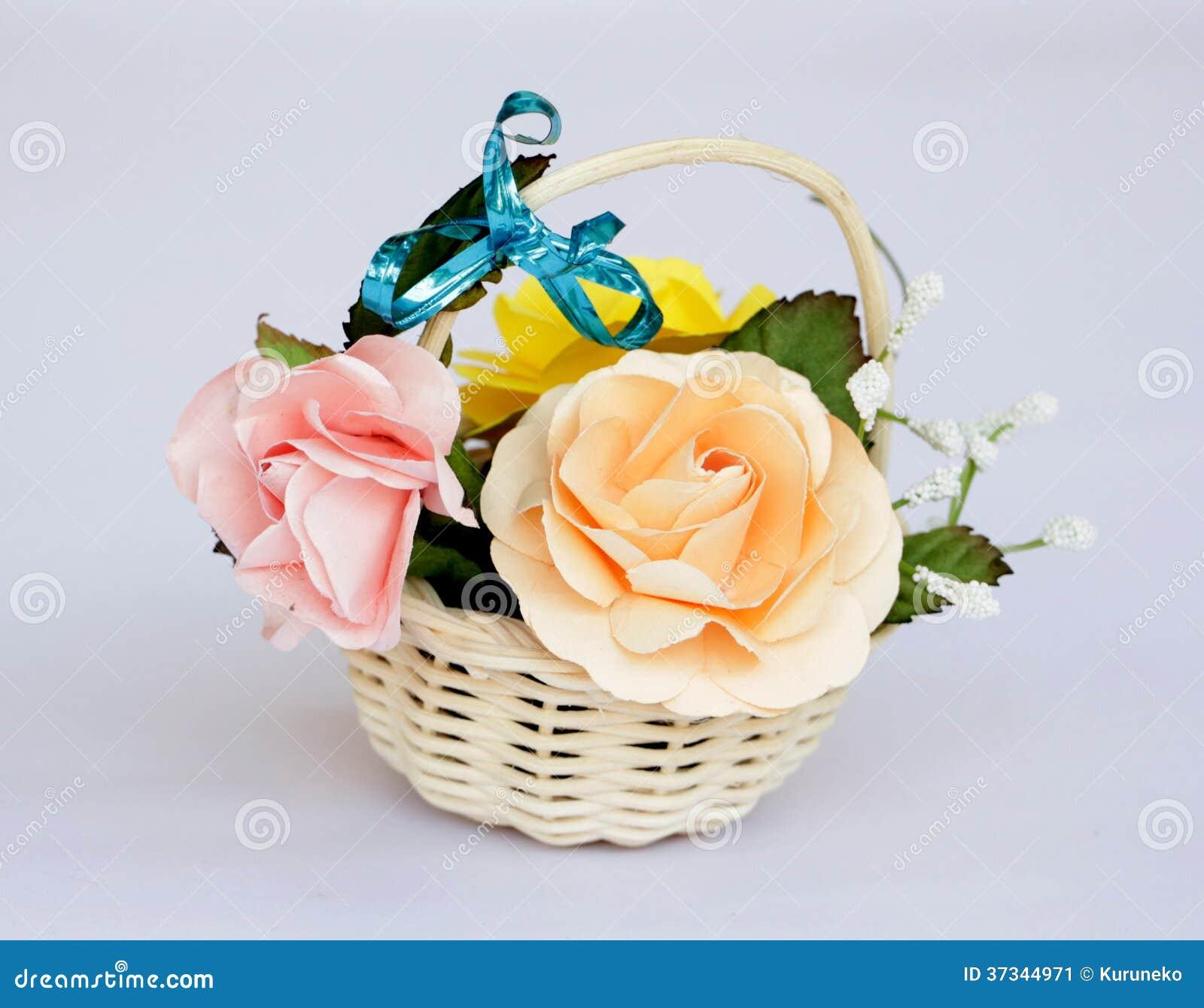 Plast-blommor