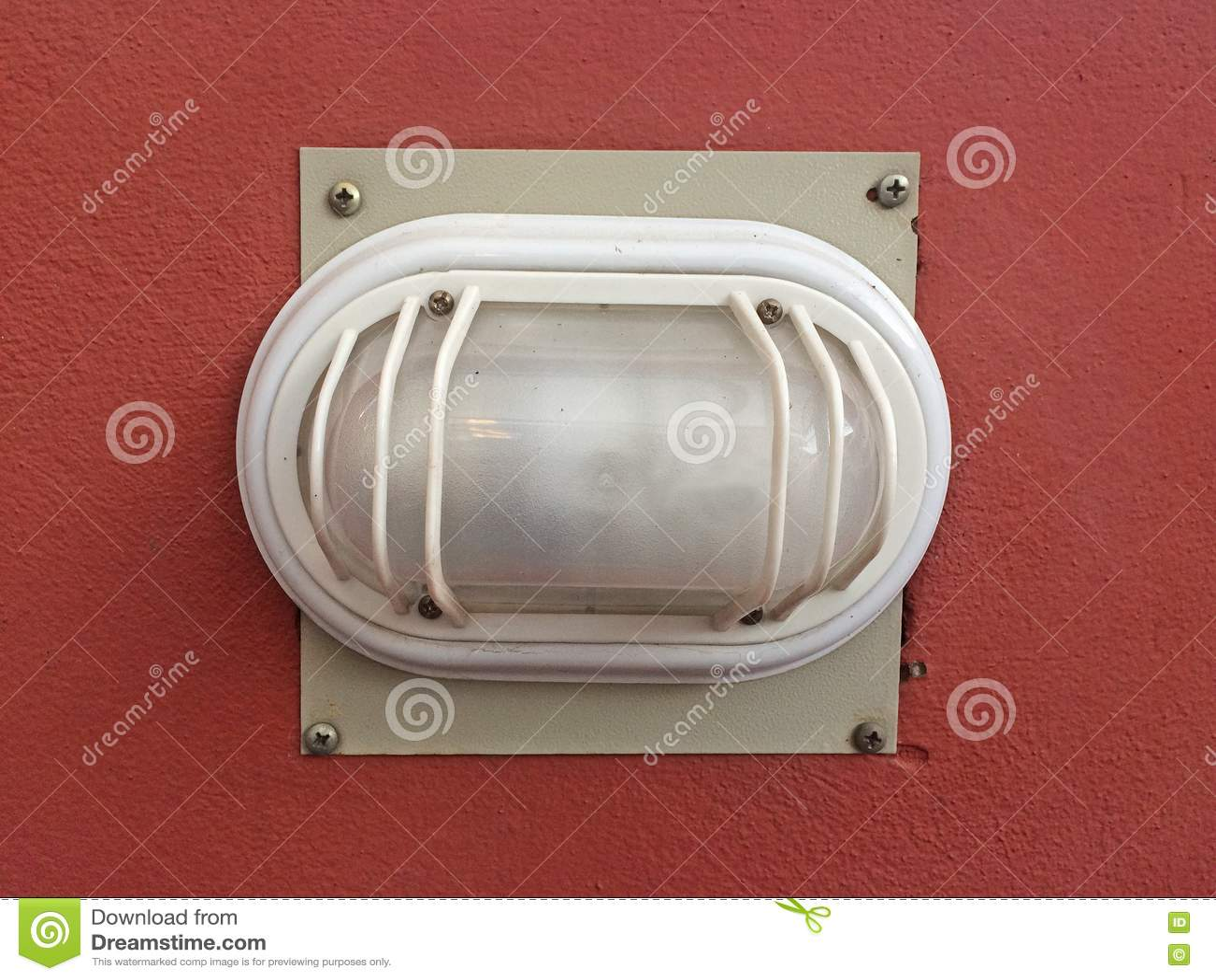 Plast- Lampa Arkivfoto - Bild: 74924894