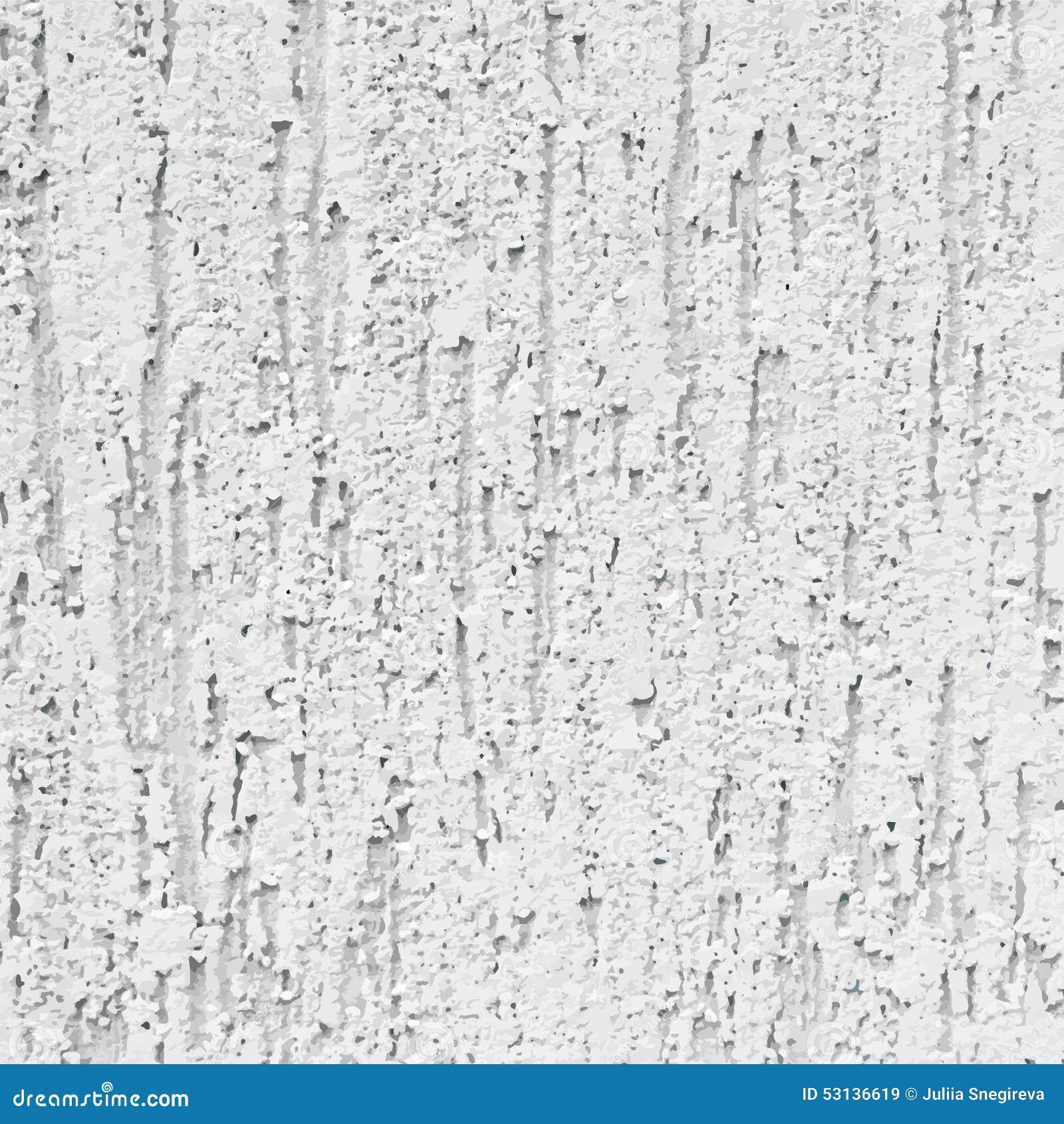 Plaster Monochrom Grey Wall Background Decorative Stock