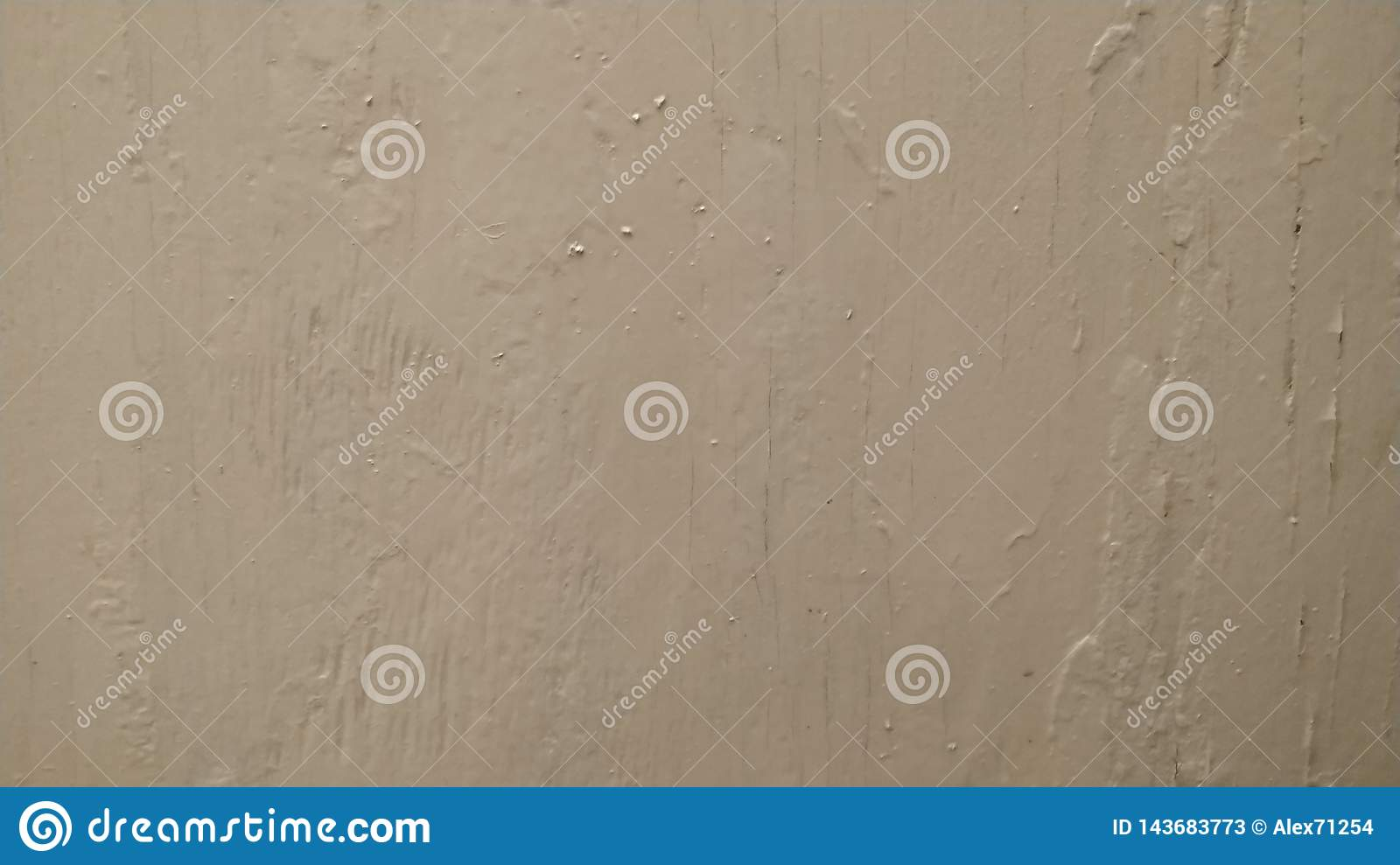 Plaster wall painted with white paint. Background, pattern. Close up shot