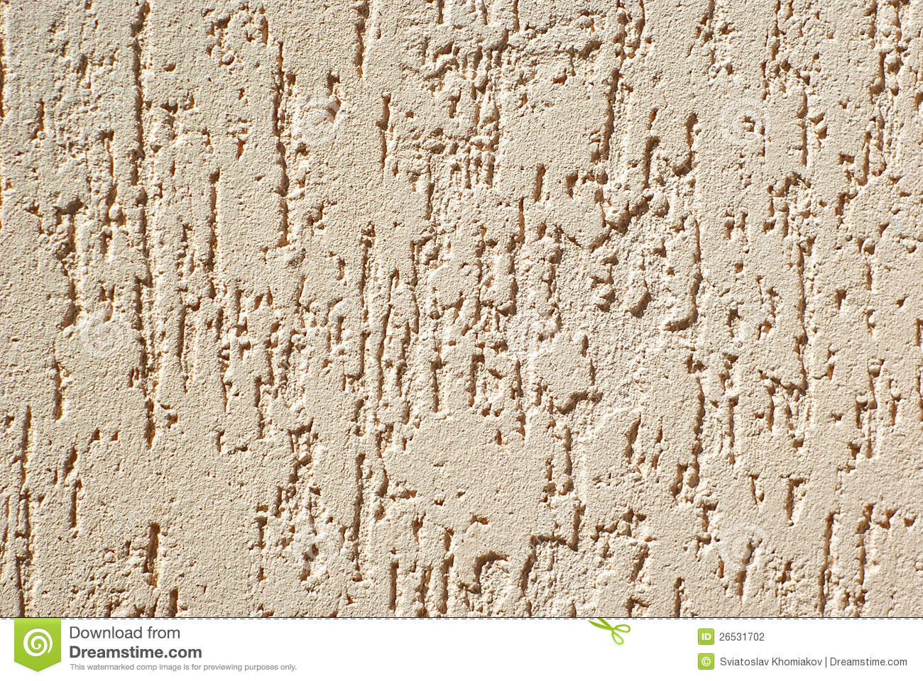 Plaster Wall Texture Stock Photo Image Of Exterior Outdoors 26531702