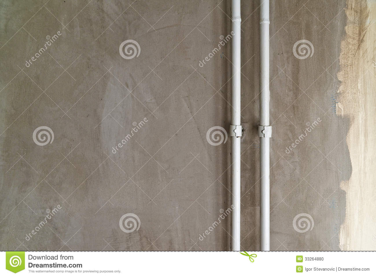 Plaster Wall Texture Stock Photo Image 33264880