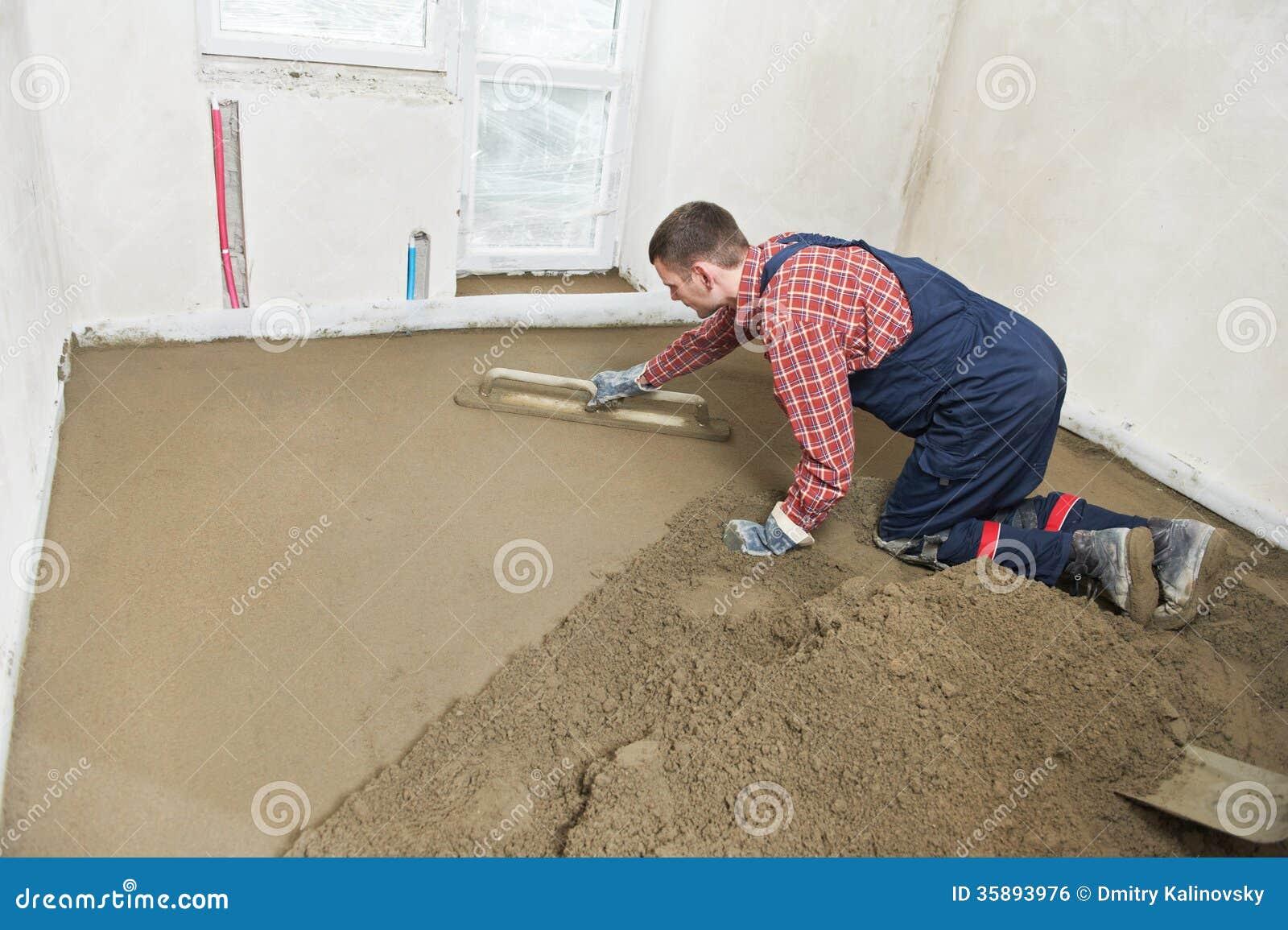 Как залить полы в квартире своими руками в панельном
