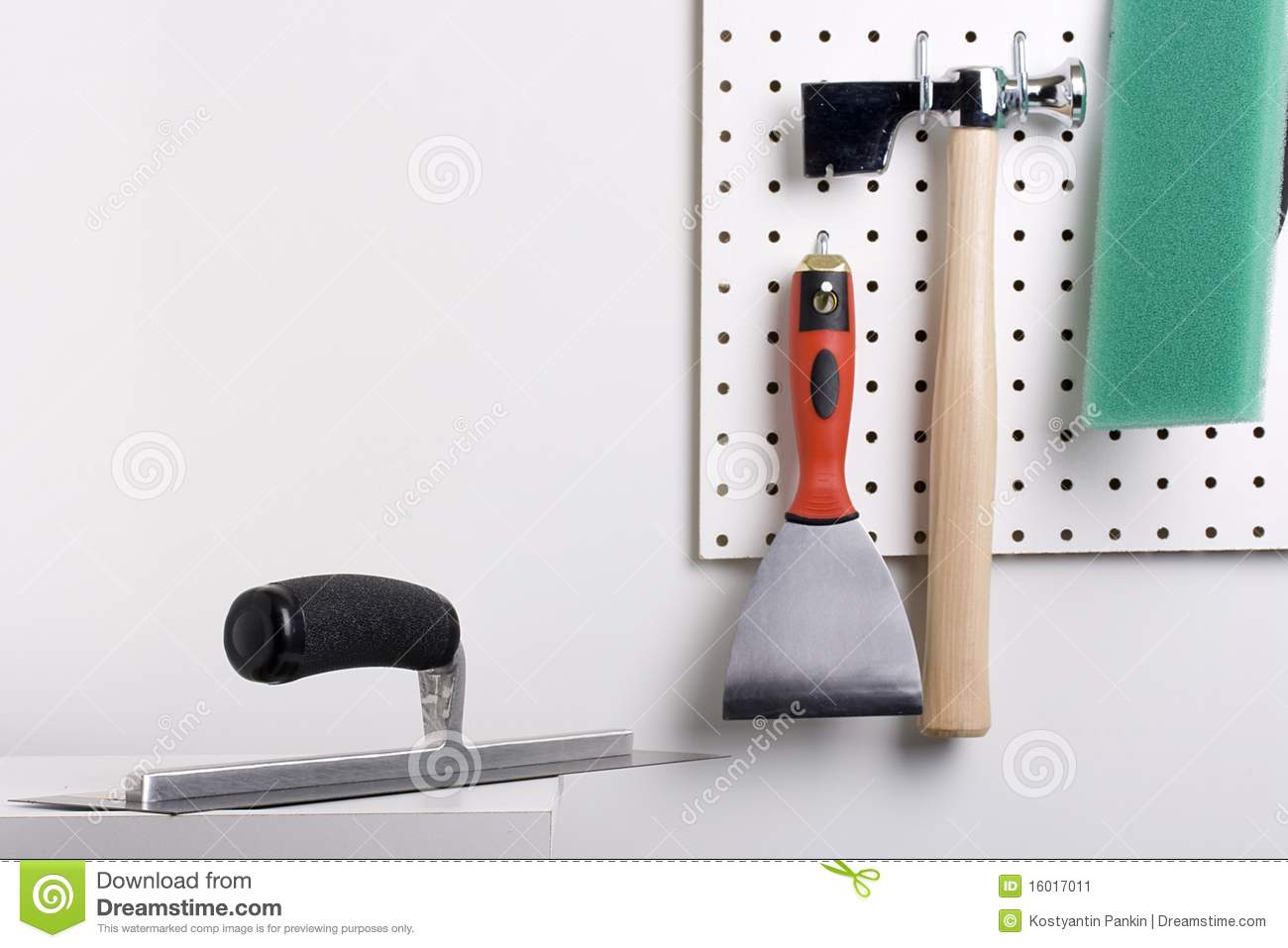 Plastering Tools Stock Image Image 16017011