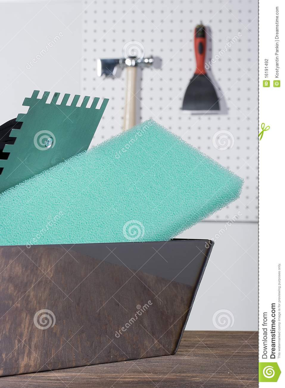 Plastering Tools Stock Photography Image 16191492