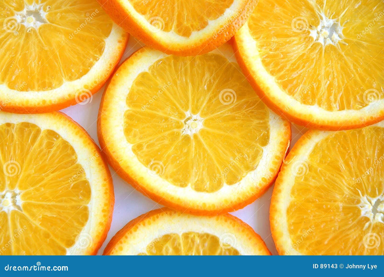 Plasterki pomarańczowe