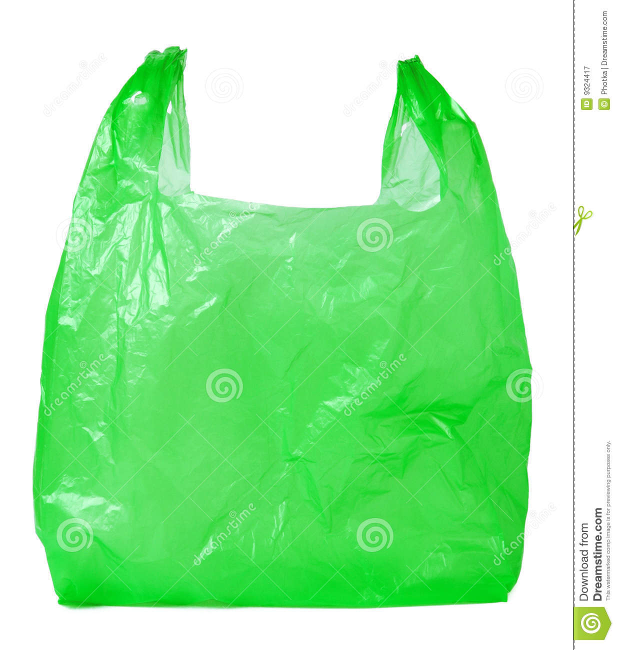 Plastic Bag Royalty Free Stock Photography - Image: 9324417