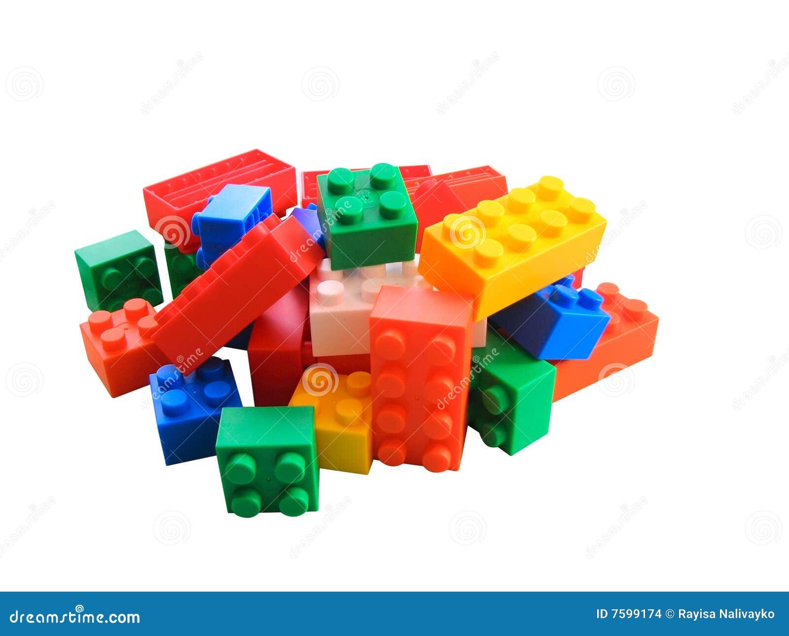 Plastic blokken