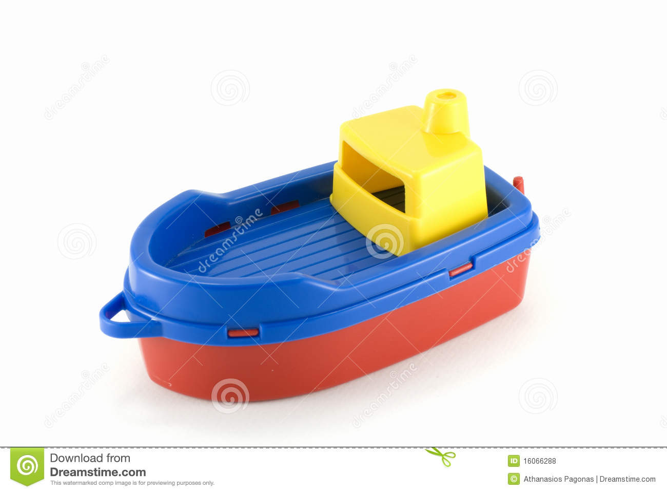 Plastic Boat Toy Royalty Free Stock Photos - Image: 16066288