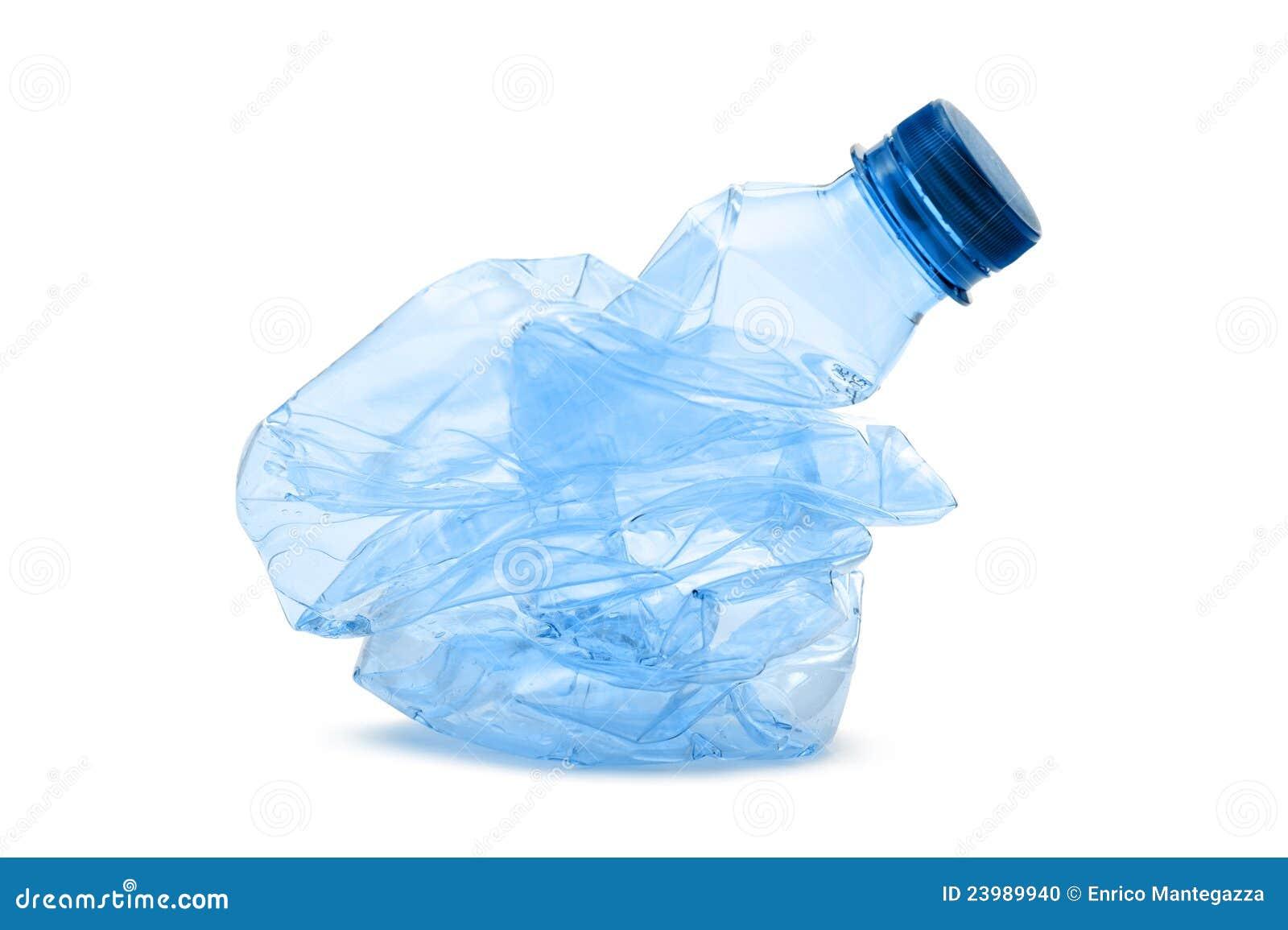 plastic bottle stock photo image of empty reuse crush