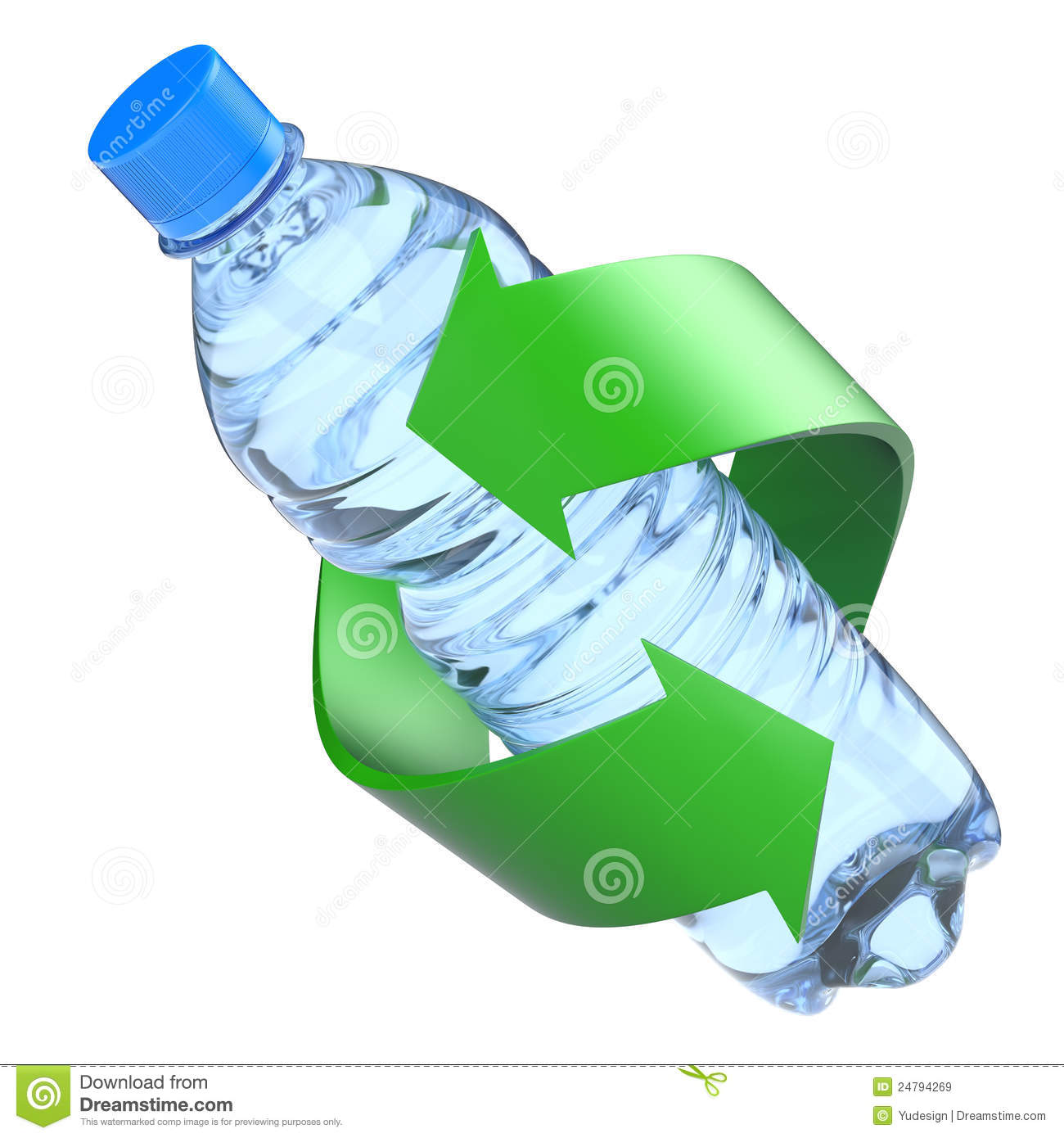 Plastic Bottle Recycling Recycle Plastic Bottle Recycling Royalty Free Stock Photography