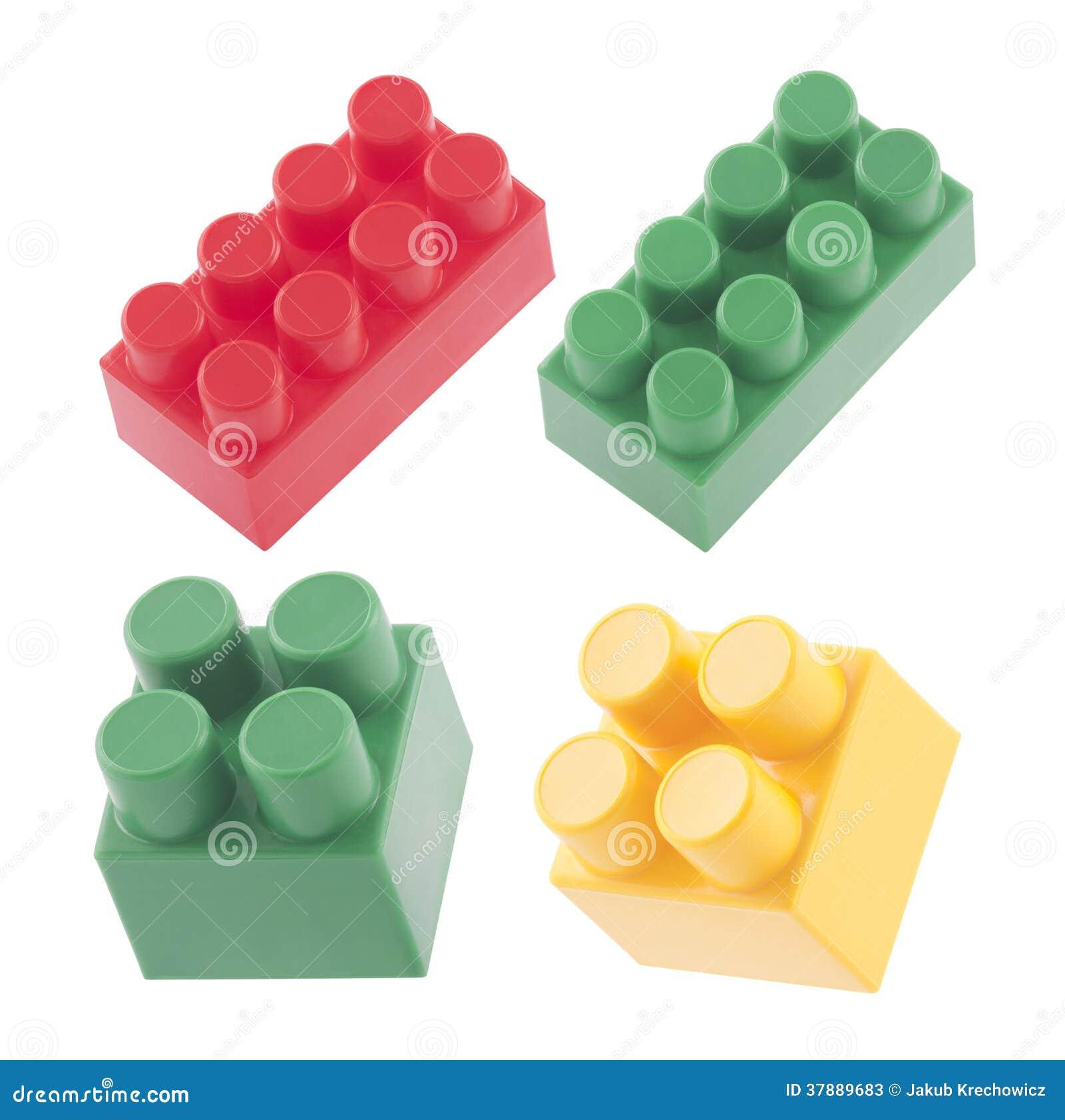 Plastic bouwstenen