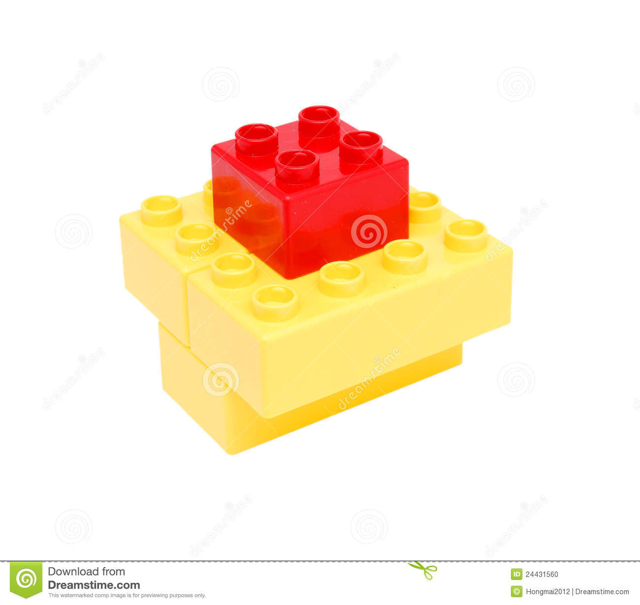 Plastic building blocks stock photo image 24431560 for Plastic building blocks home construction