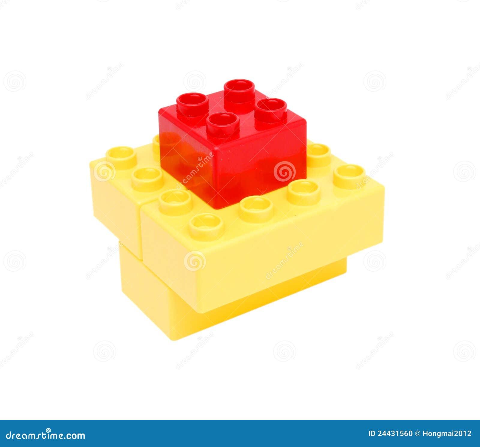 Plastic Building Blocks Stock Photo Image 24431560