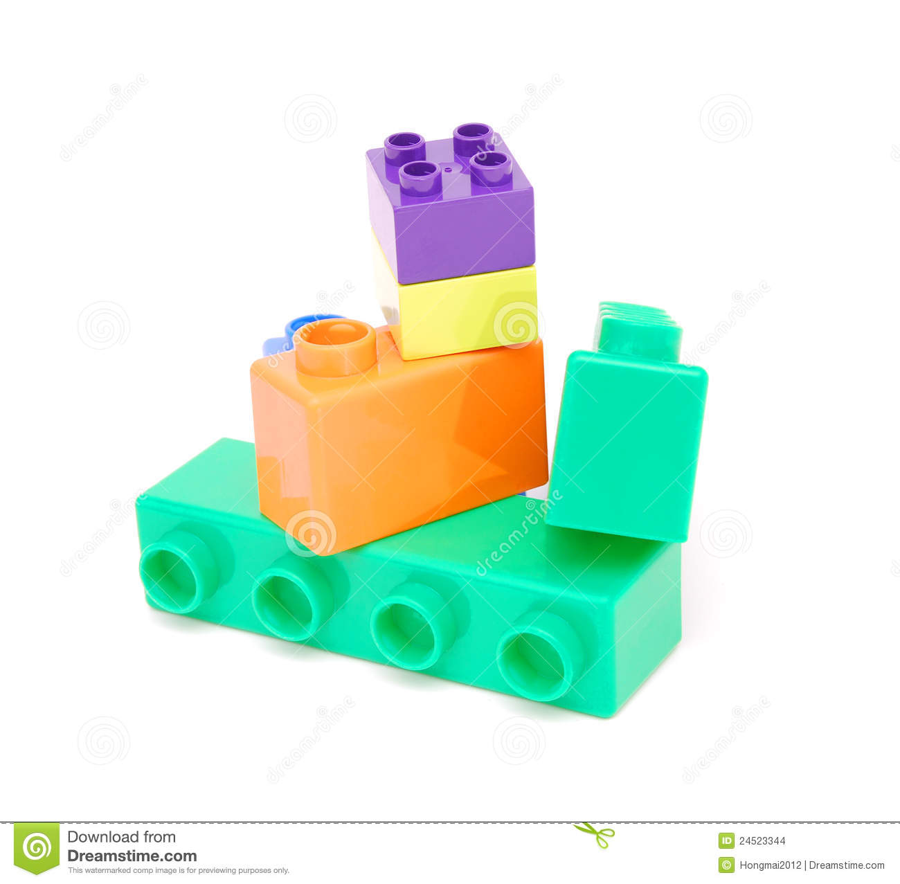 Plastic building blocks stock images image 24523344 for Plastic building blocks home construction
