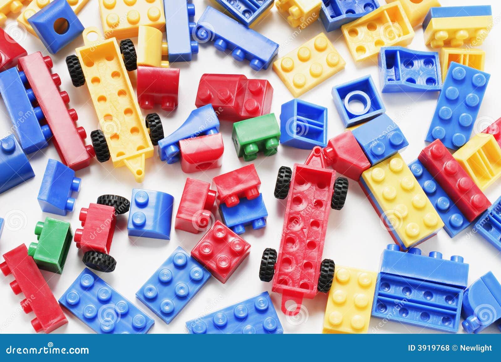Plastic Building Blocks Stock Photo Image Of Amusement