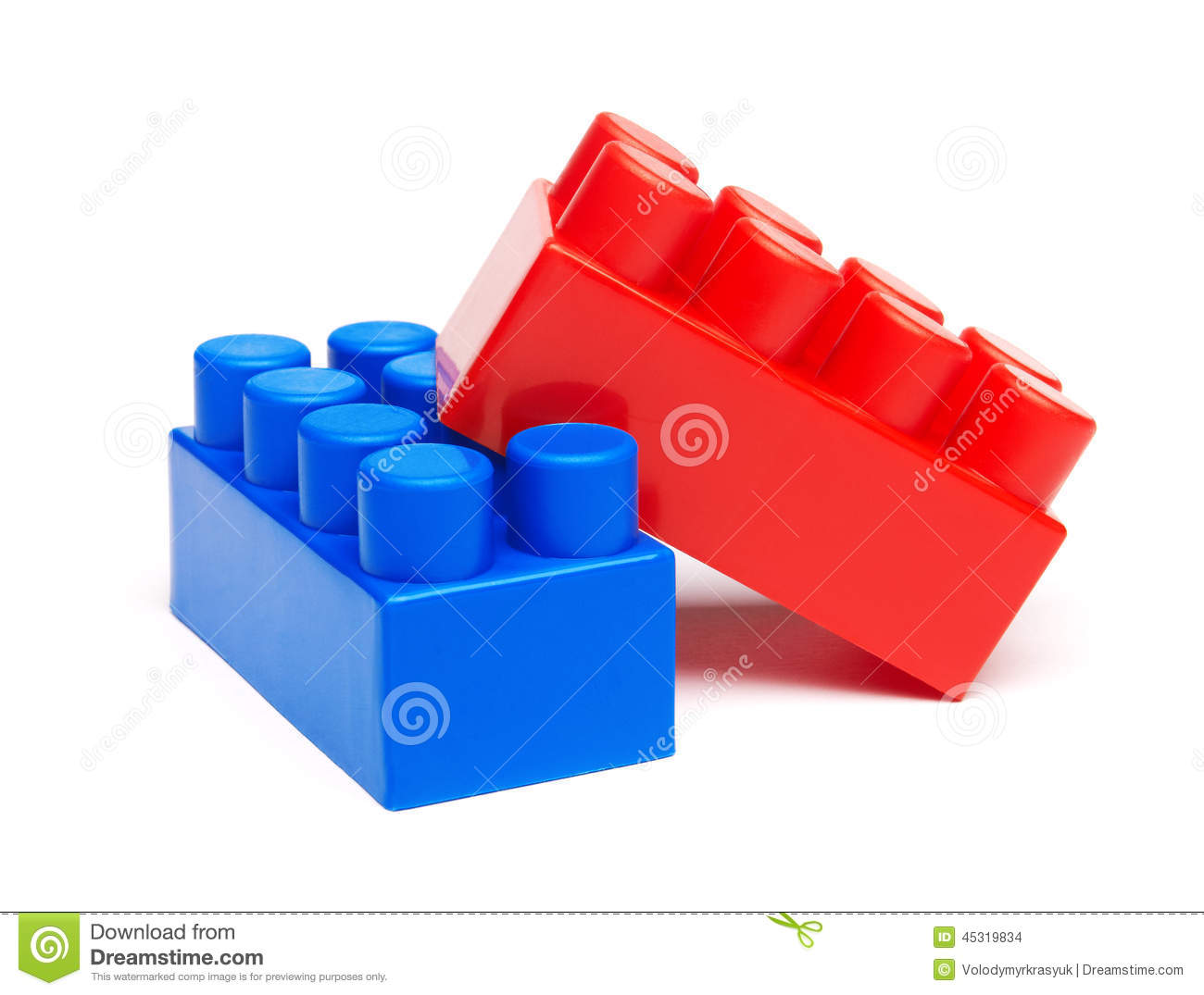 Plastic building blocks stock photo image 45319834 for Plastic building blocks home construction