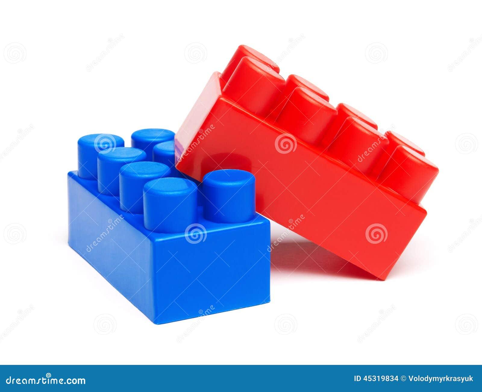 Plastic Building Blocks Stock Photo Image 45319834