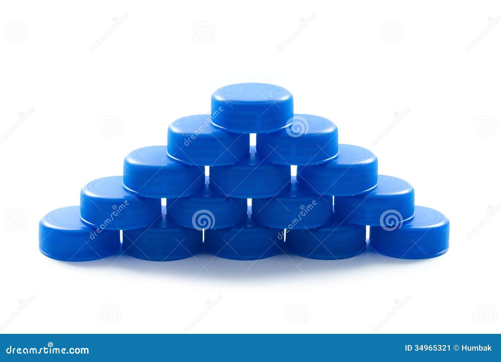 Plastic cap stock image image 34965321 - Plastic bottles with caps ...