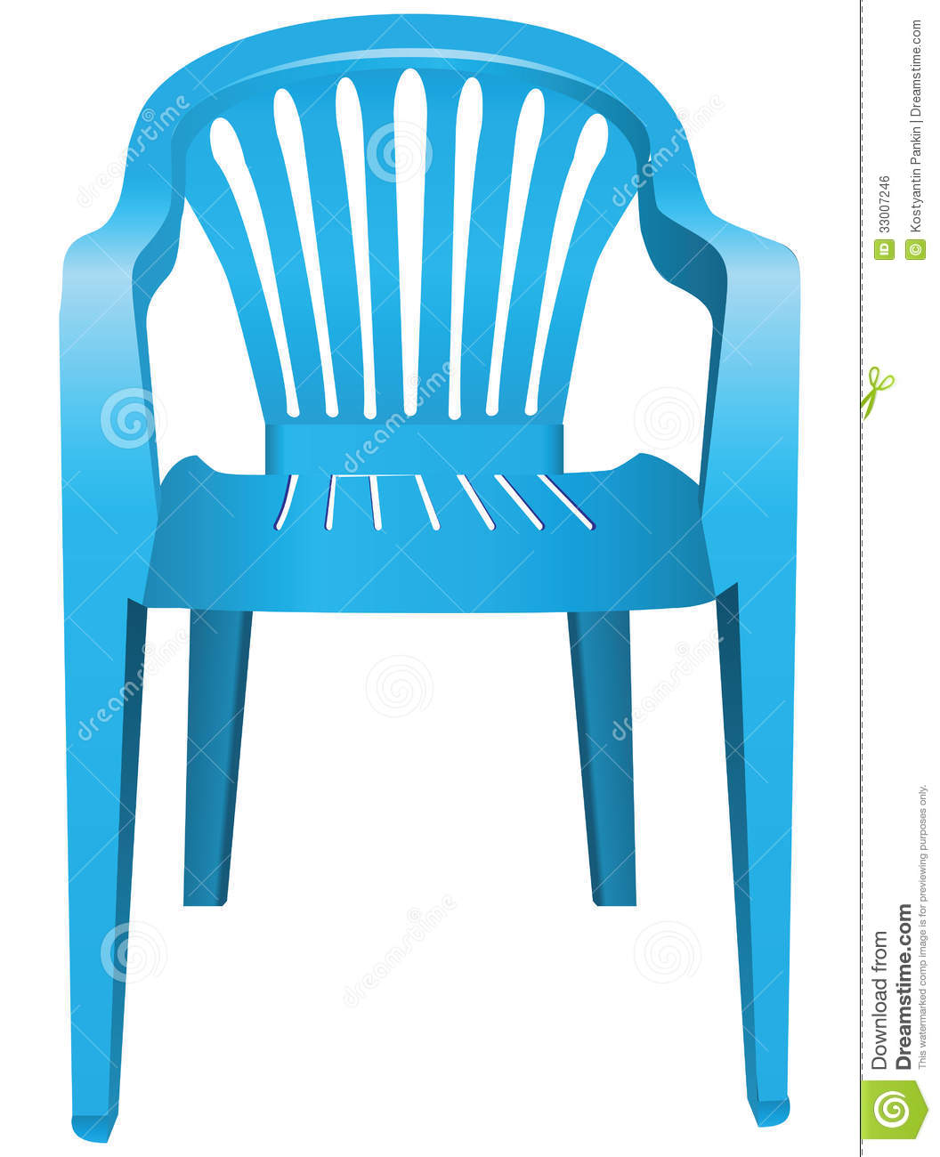 Plastic Chair Royalty Free Stock Image - Image: 33007246