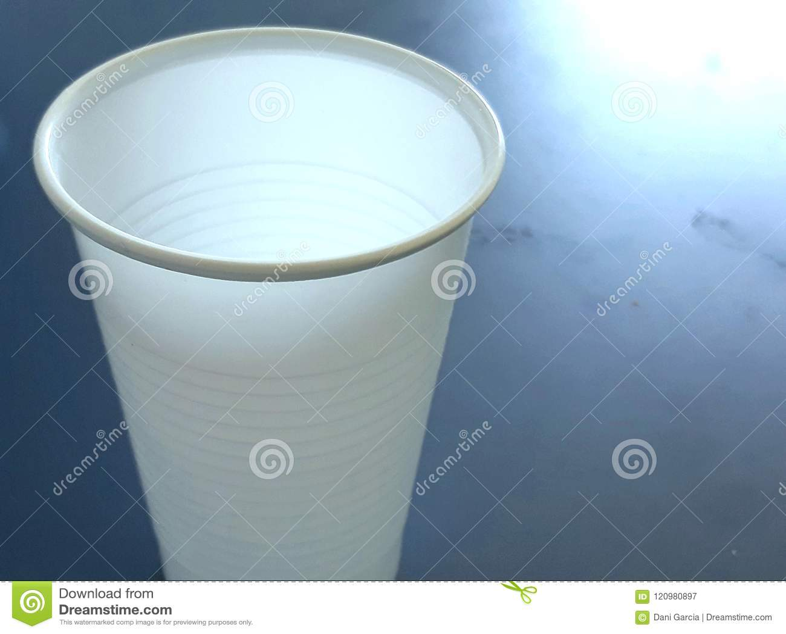 Plastic cup.