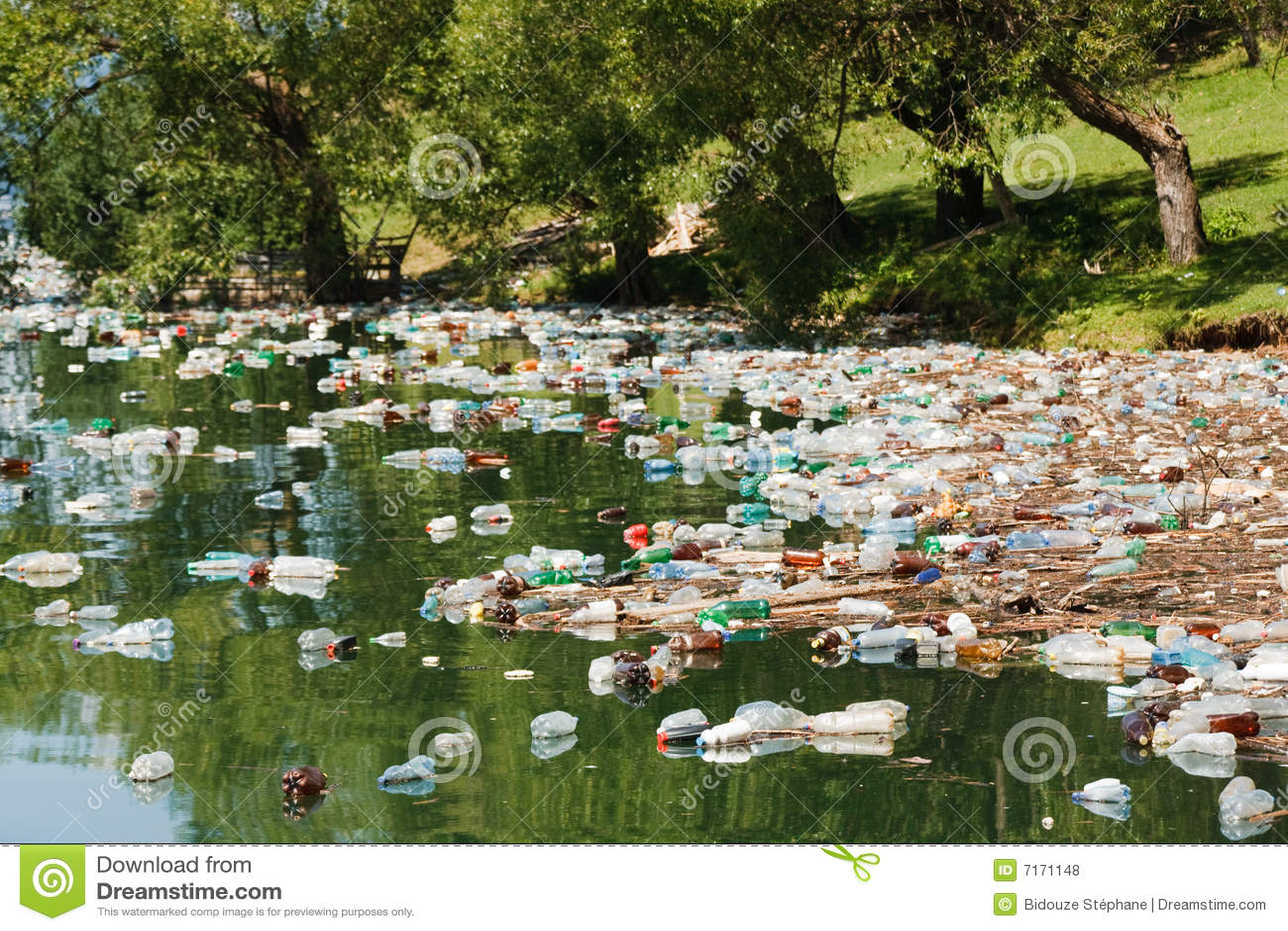 Plastic förorening