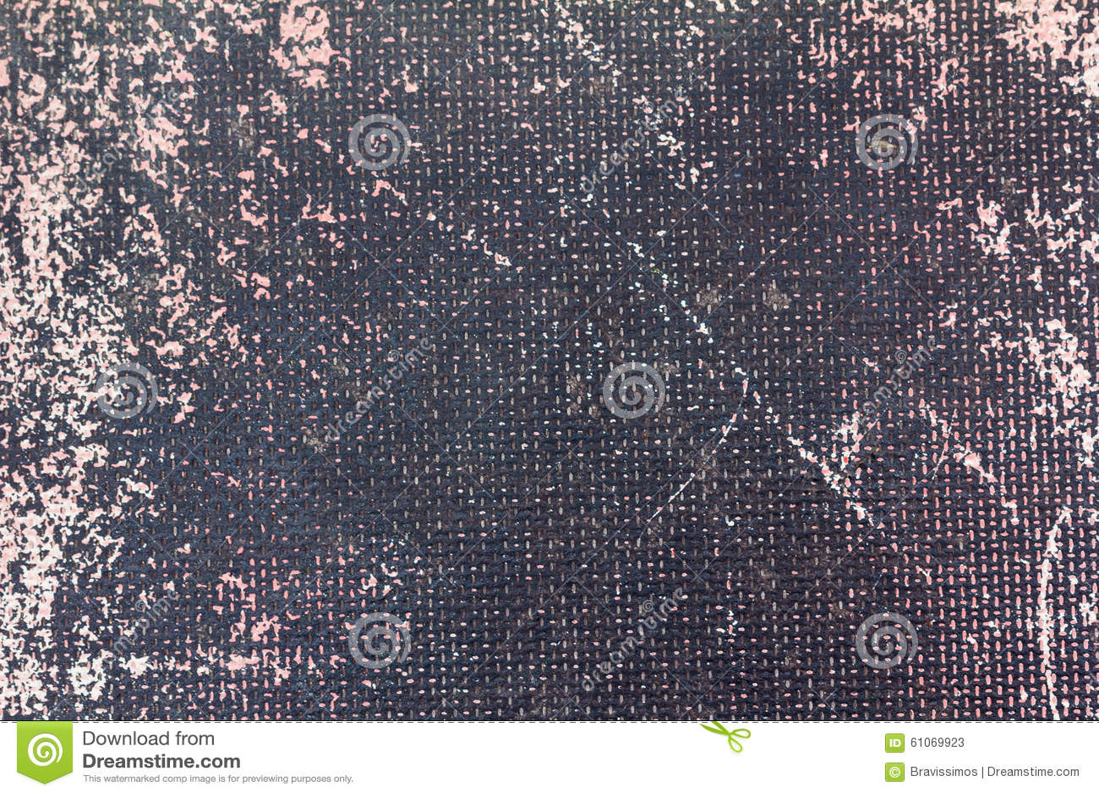 Plastic fiber texture