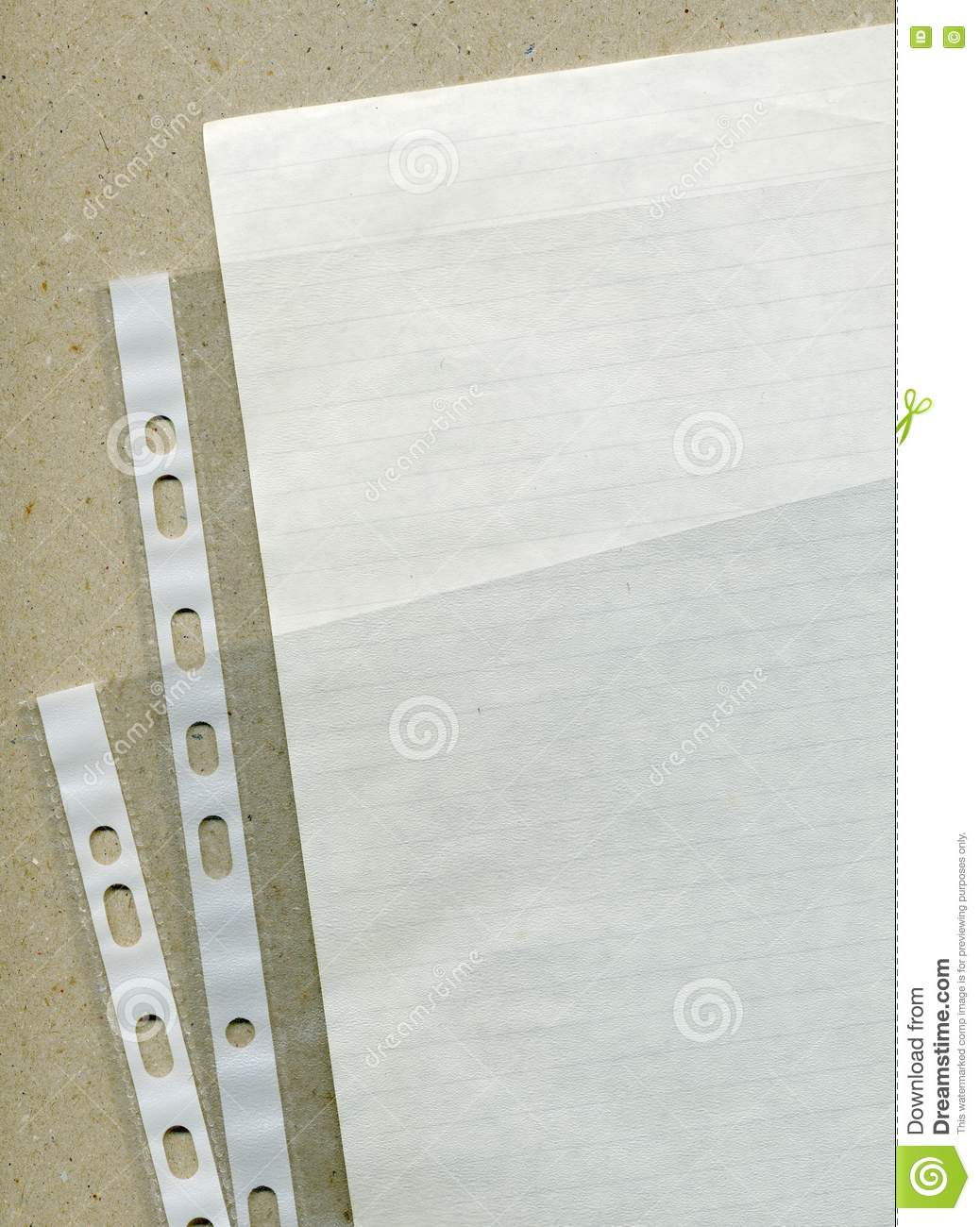 plastic file folders stock photo  image of personal  binder