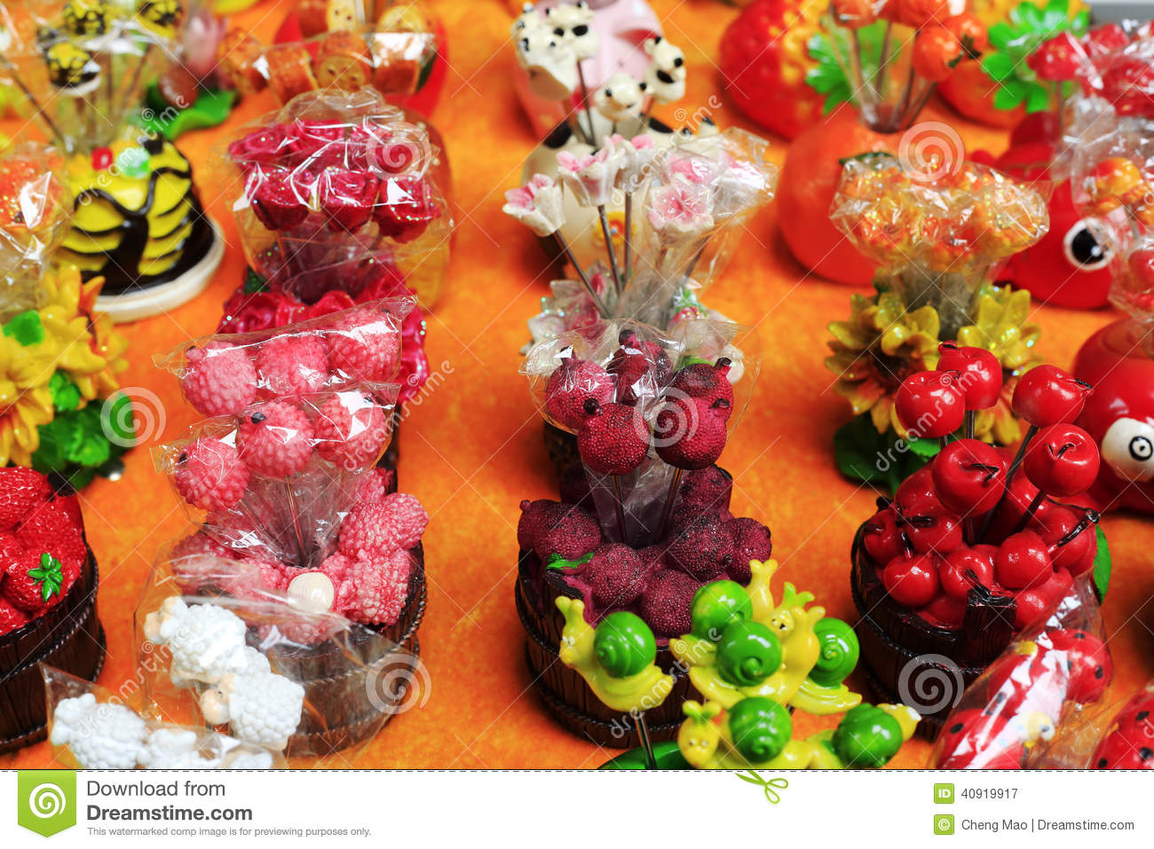 Plastic fruit decoration stock image image of decoration for Decoration fruit