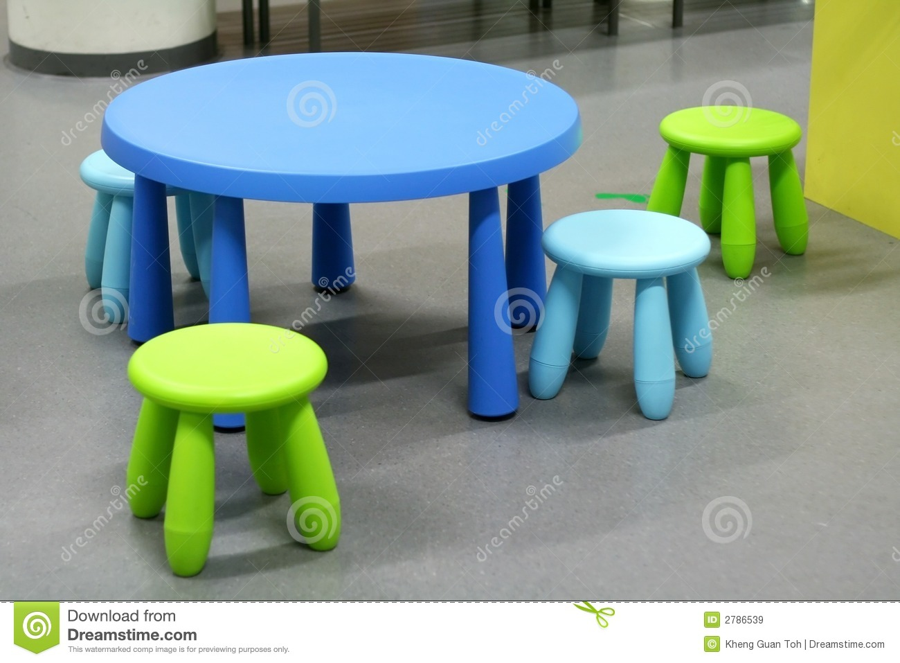 Plastic furniture stock image image of rounded children 2786539 Plastic for furniture