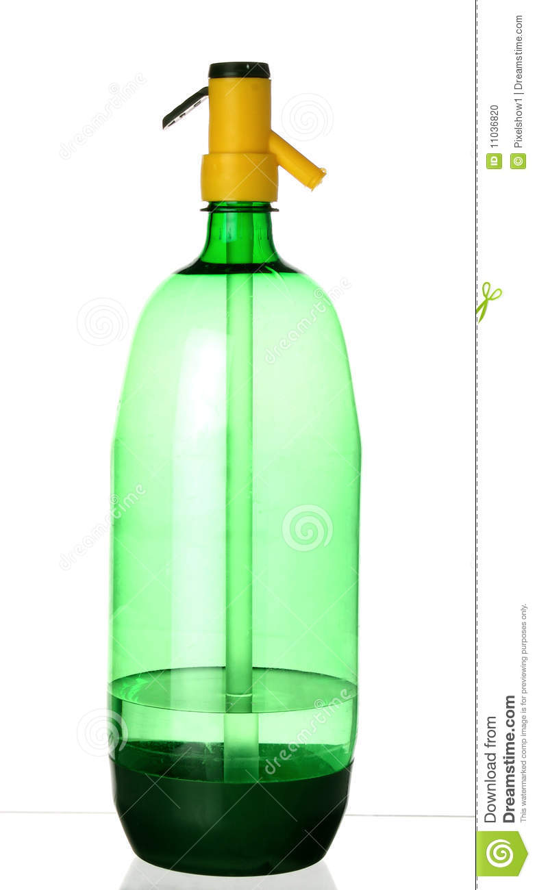 Plastic Green Soda Siphon Stock Photo Image 11036820