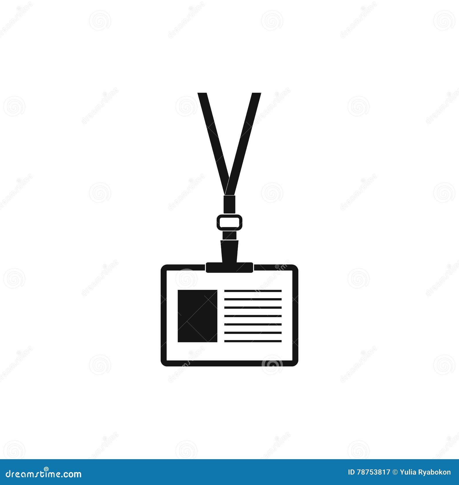 blank id card template