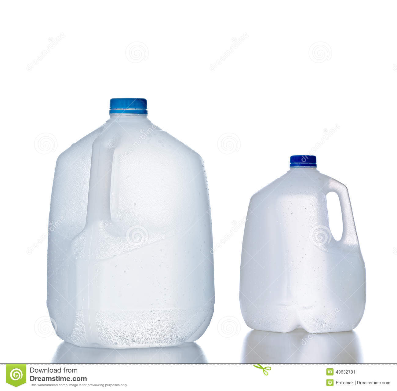 Download Plastic Jugs, Recyclable And Reusable Bottle Jug Stock Image - Image of environmental, disposable: 49632781