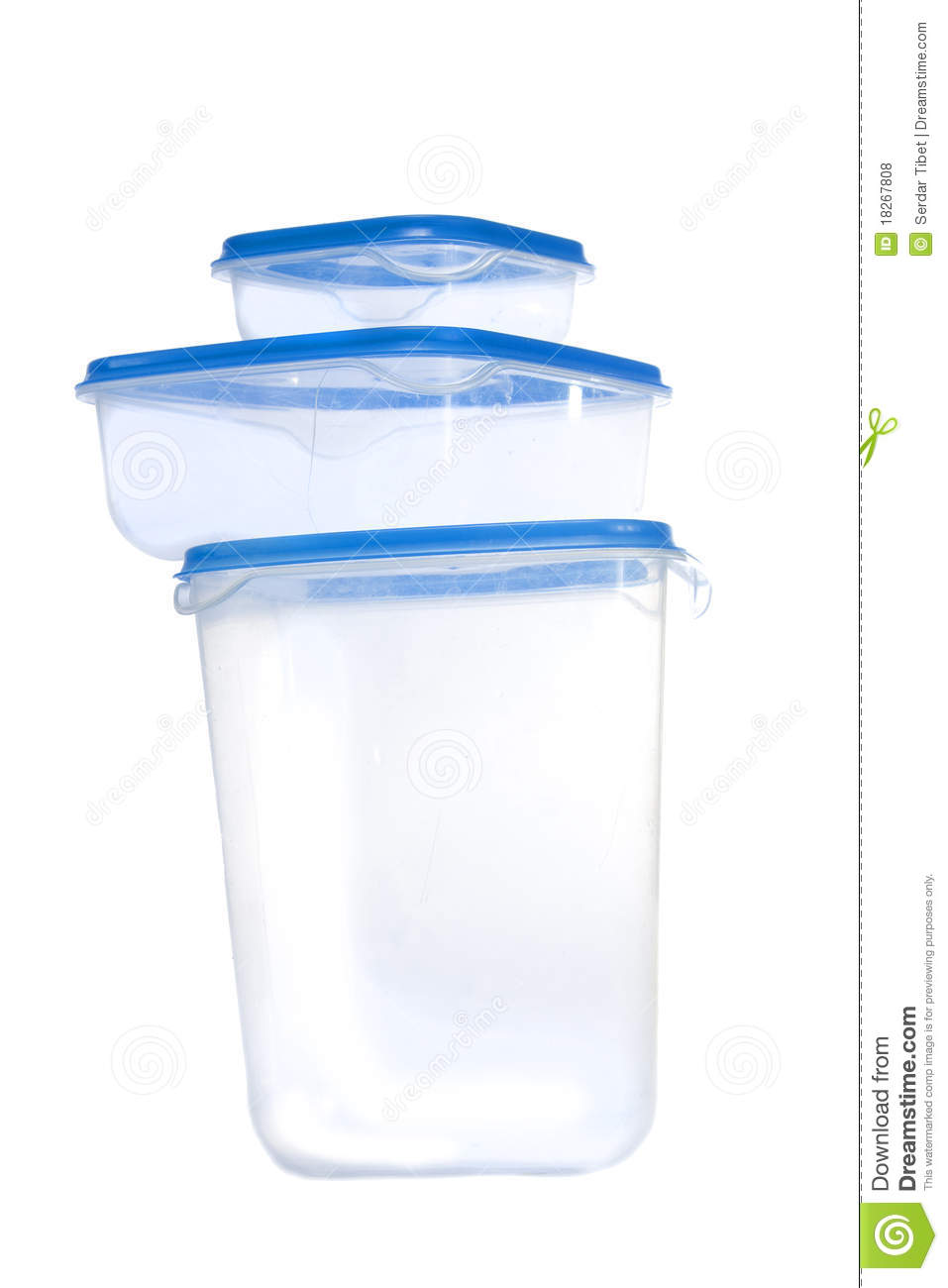Plastic Kitchen Containers Royalty Free Stock Photos Image 18267808